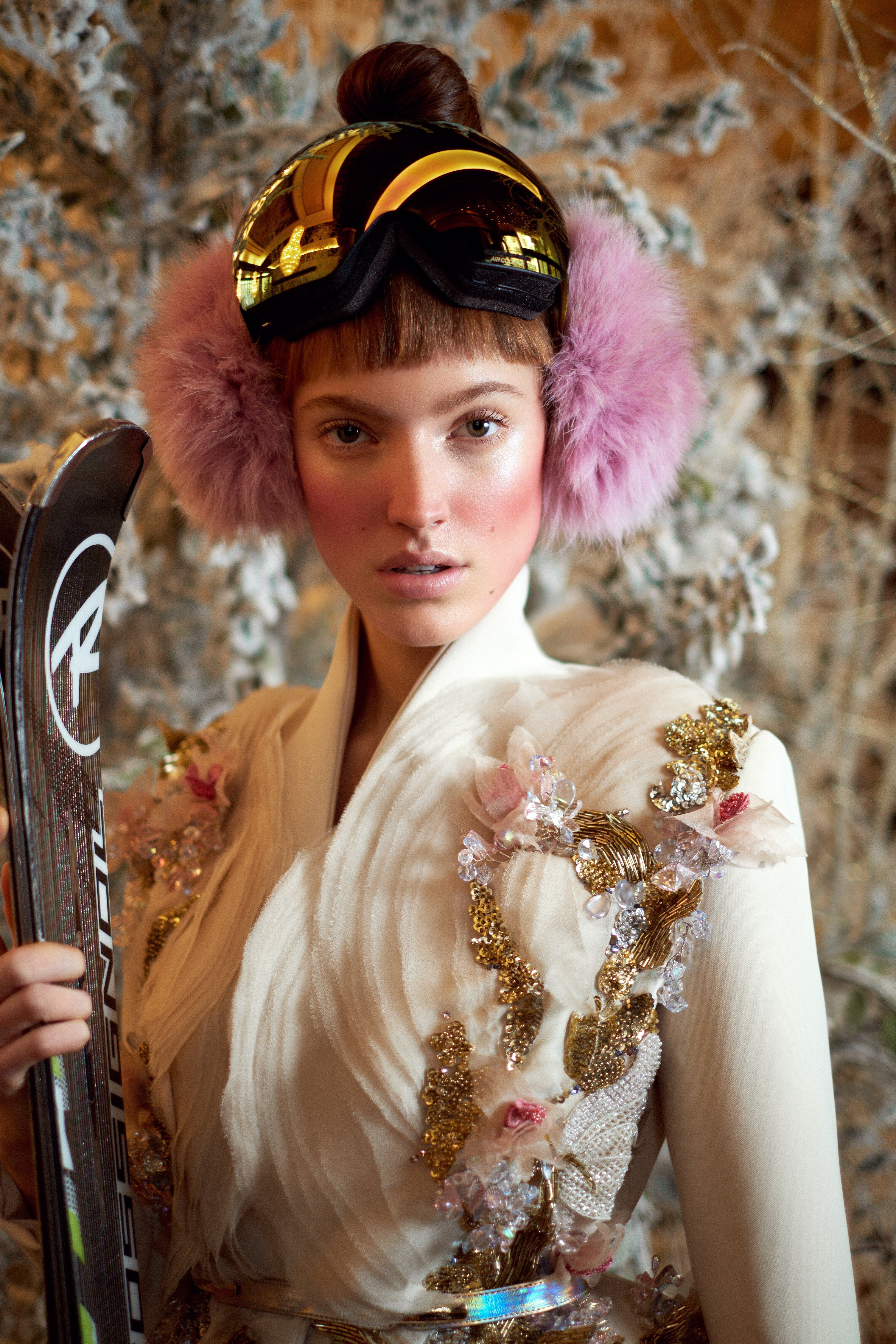 49f10f20e2512 When haute couture hits the slopes  11 of the most outlandish skiing  outfits
