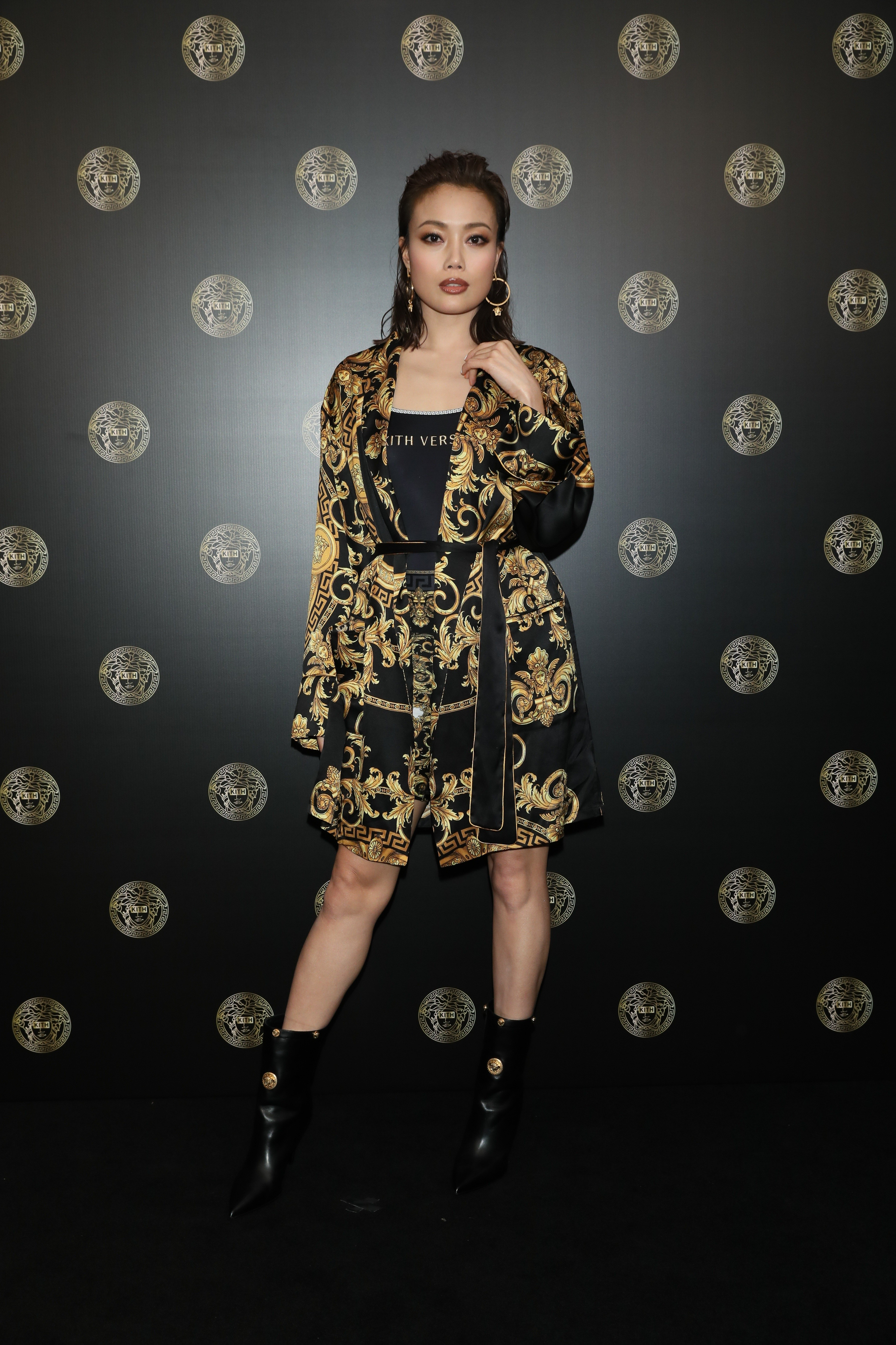 173c552e7 Versace and Kith join forces for Hong Kong pop-up store's opening ...