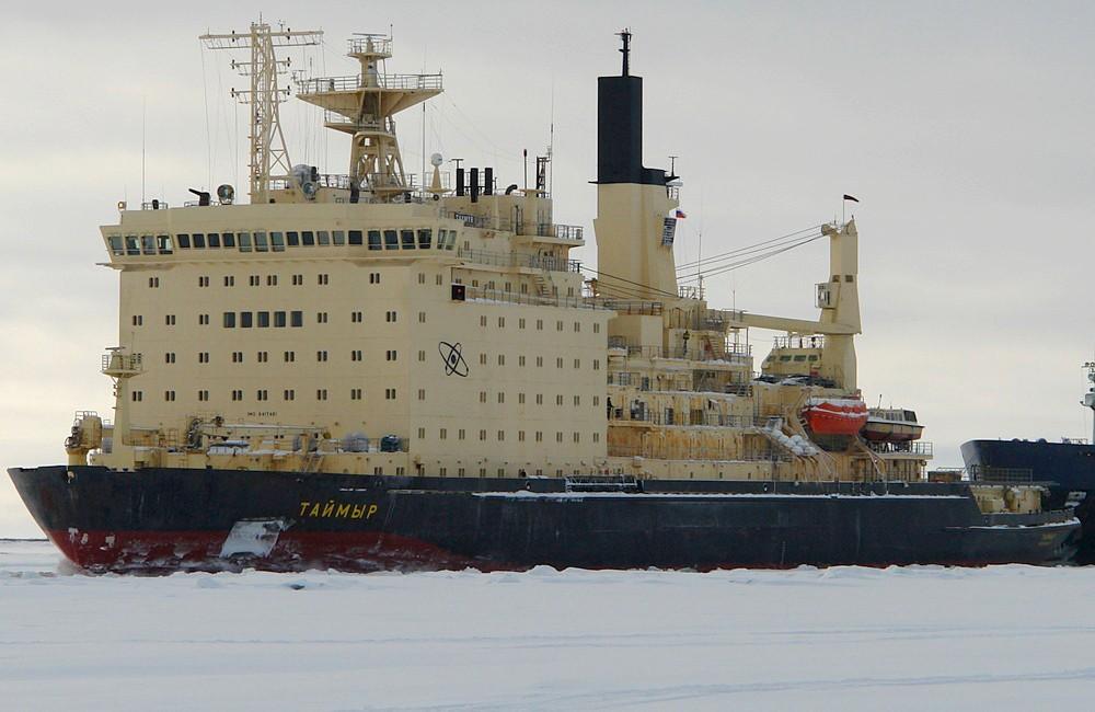 Vladimir Putin boasts of growing nuclear icebreaker fleet as