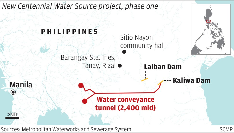 Philippines goes cap in hand to China as water shortage