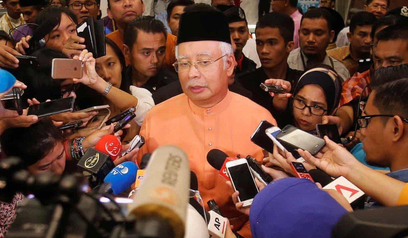 Scandal hit: Najib Razak. Photo: Reuters