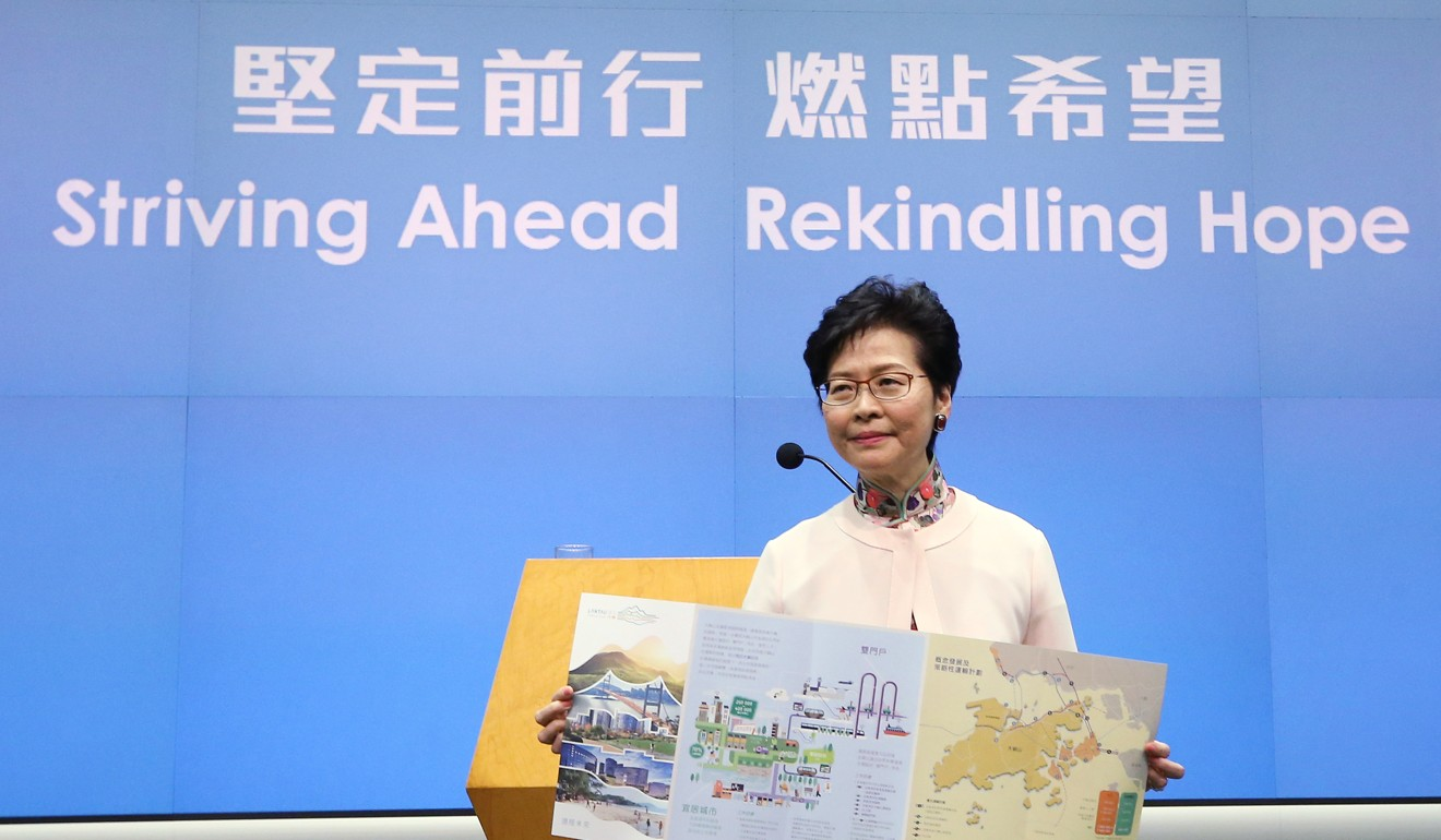 Carrie Lam announced the scheme last year. Photo: Dickson Lee