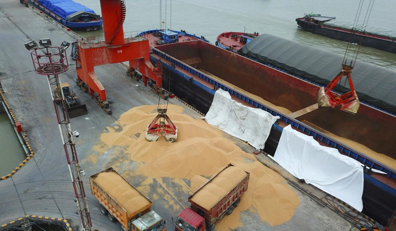 Os agricultores brasileiros foram descontados depois que a China cortou suas compras de soja norte-americana no ano passado.  Foto: AP