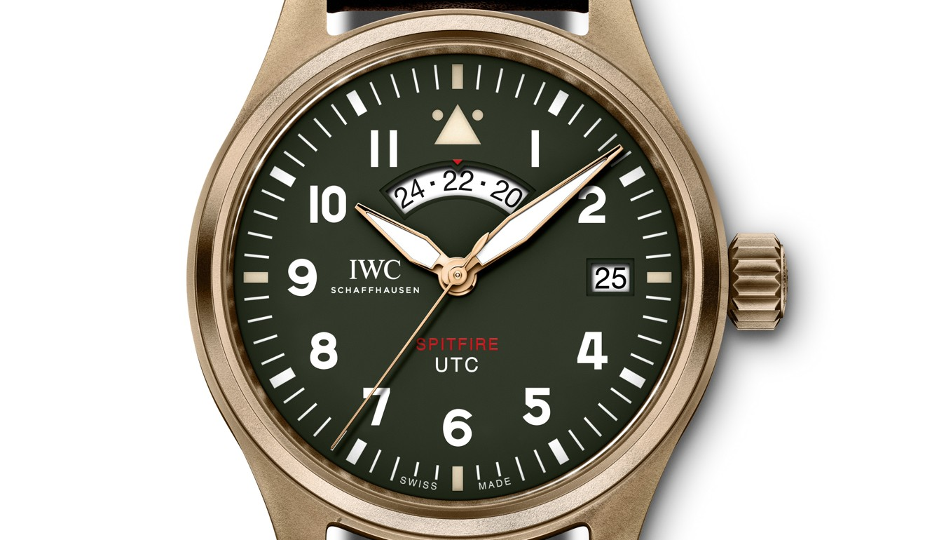 SIHH 2019: IWC's Spitfire and Top Gun timepieces reach for the sky