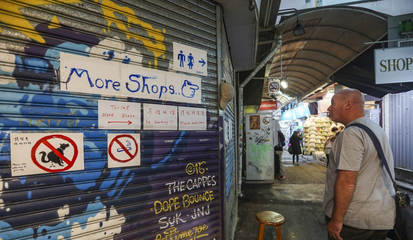 Made in China trinkets gather dust in Stanley Market as visitor
