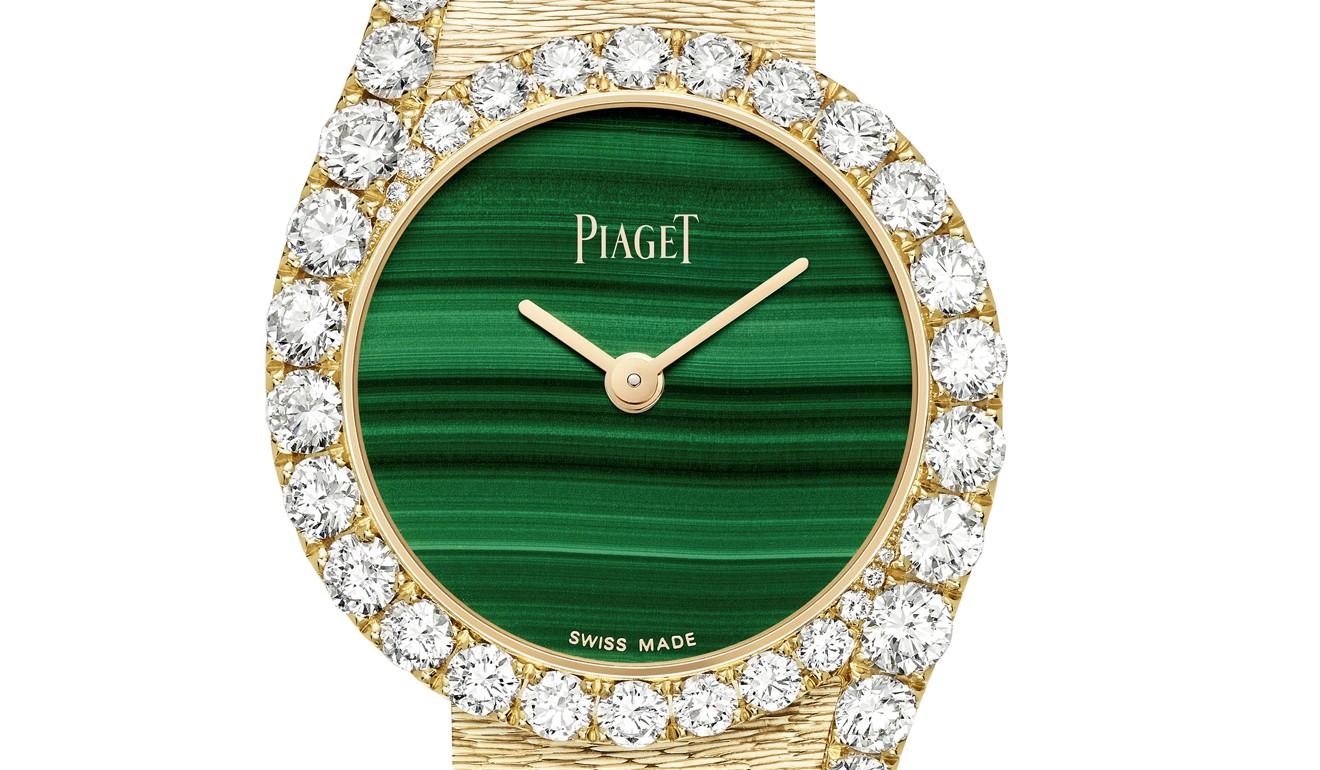 L'ultima versione di Piaget dell'orologio Gala di Limelight presenta diamanti più grandi rispetto alle versioni precedenti.