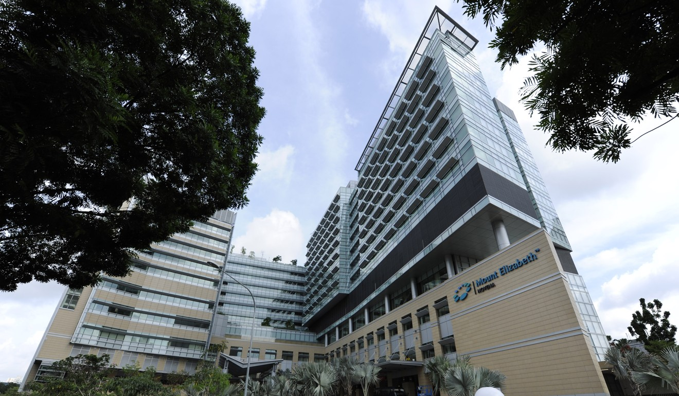 IHH Healthcare's Mount Elizabeth Novena Hospital in Singapore. Photo: Bloomberg