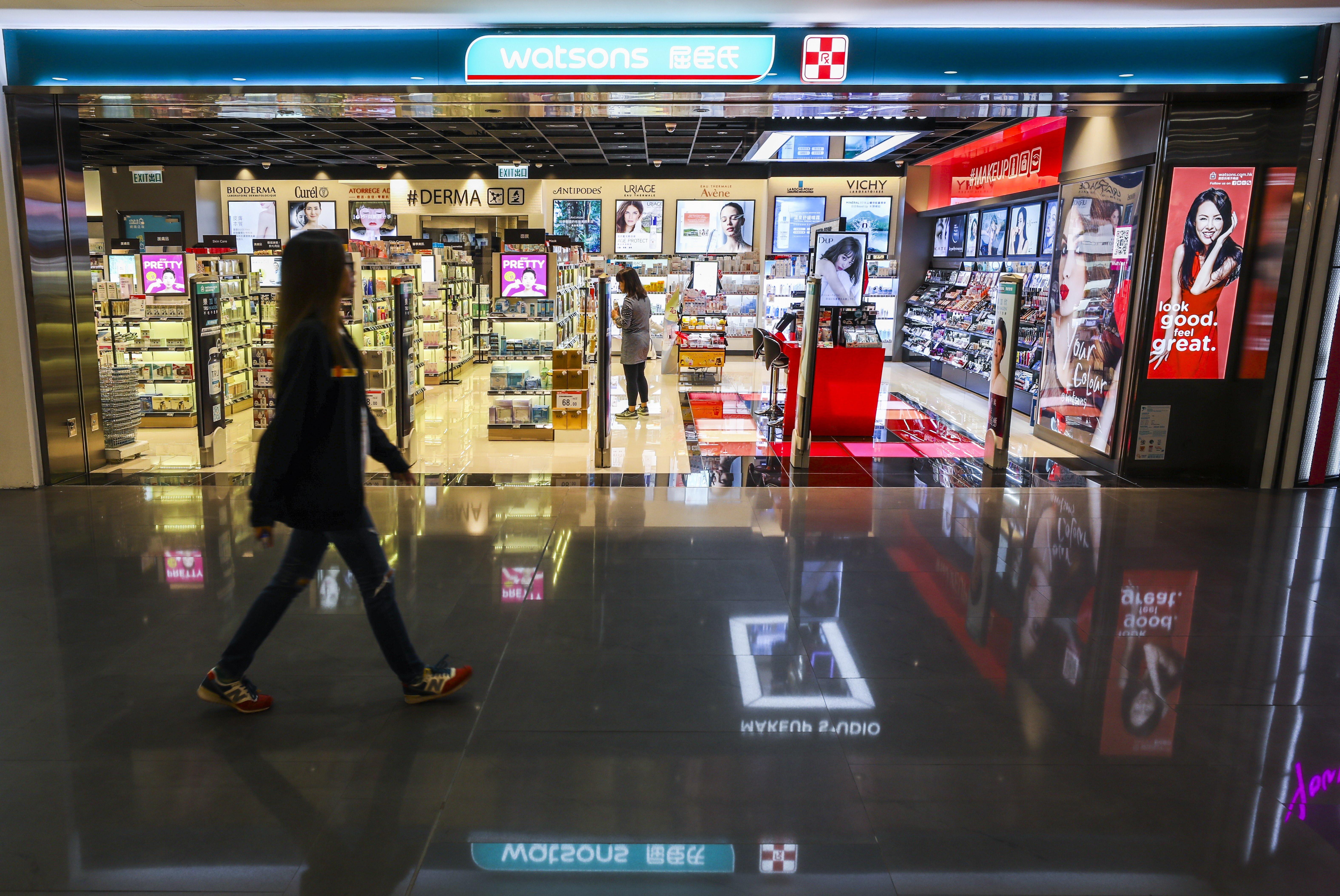 0777e8f132 Hong Kong retail giant AS Watson to spend HK$1 billion on digital  transformation in the next decade