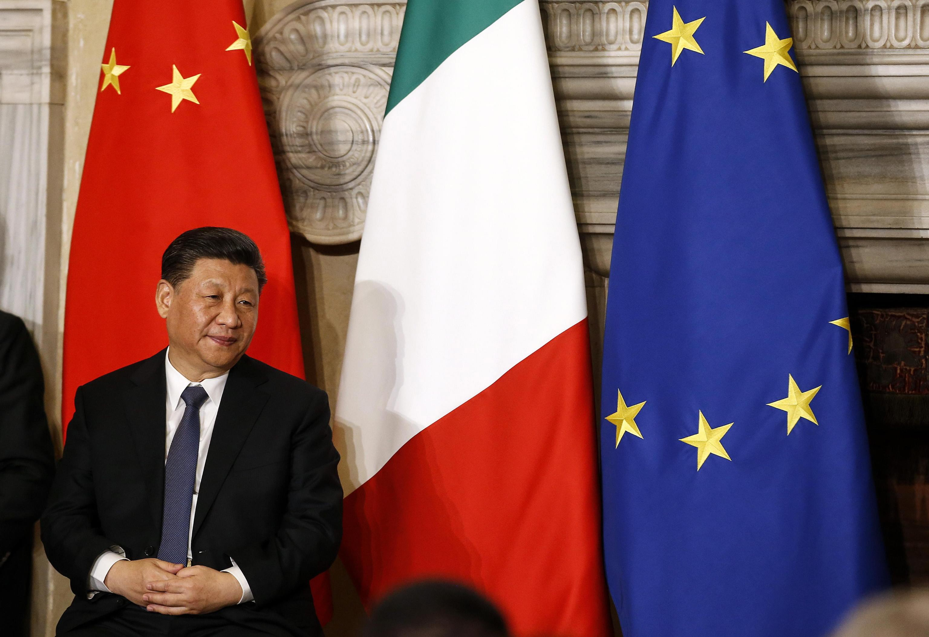 China will not divide Europe, senior diplomat says