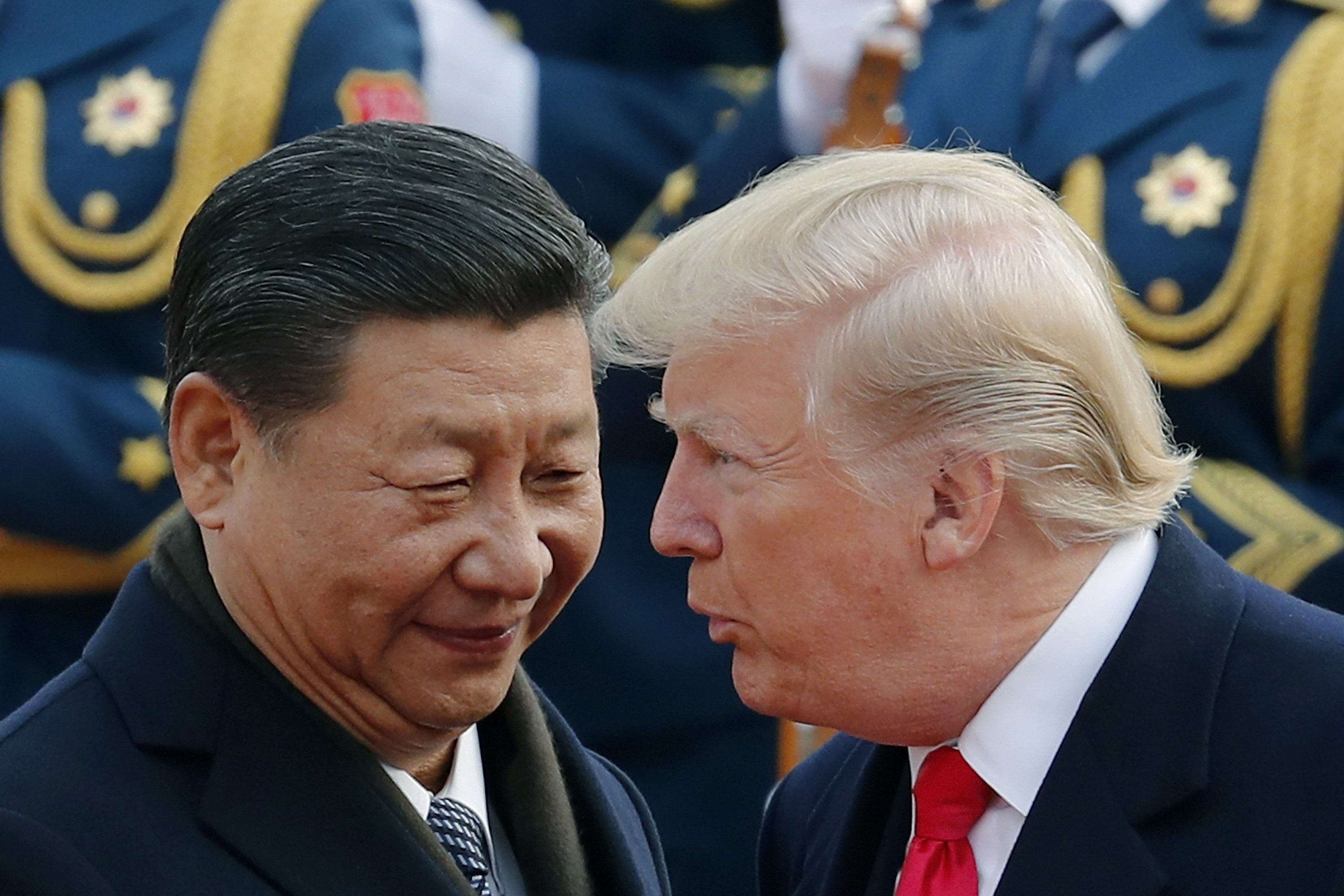 a7086abd8 Donald Trump reveals he called Xi Jinping 'king' – and says Xi liked ...