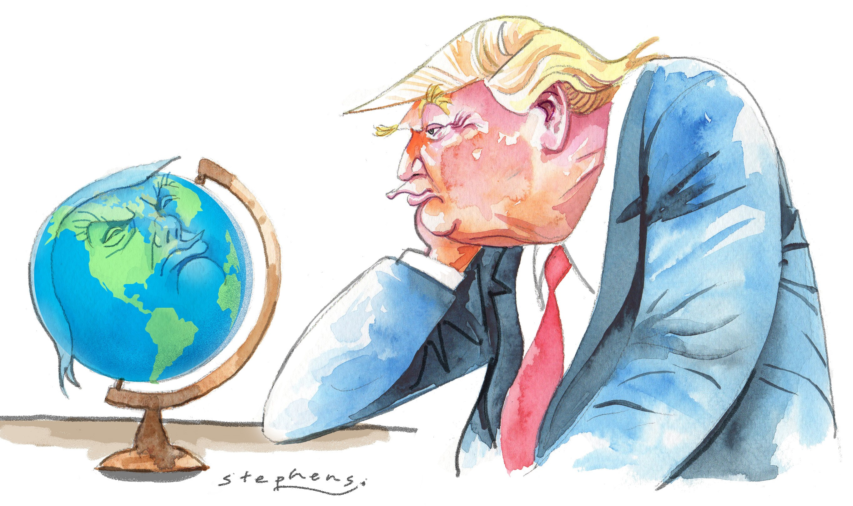 The US stumbles under the burden of global leadership  The