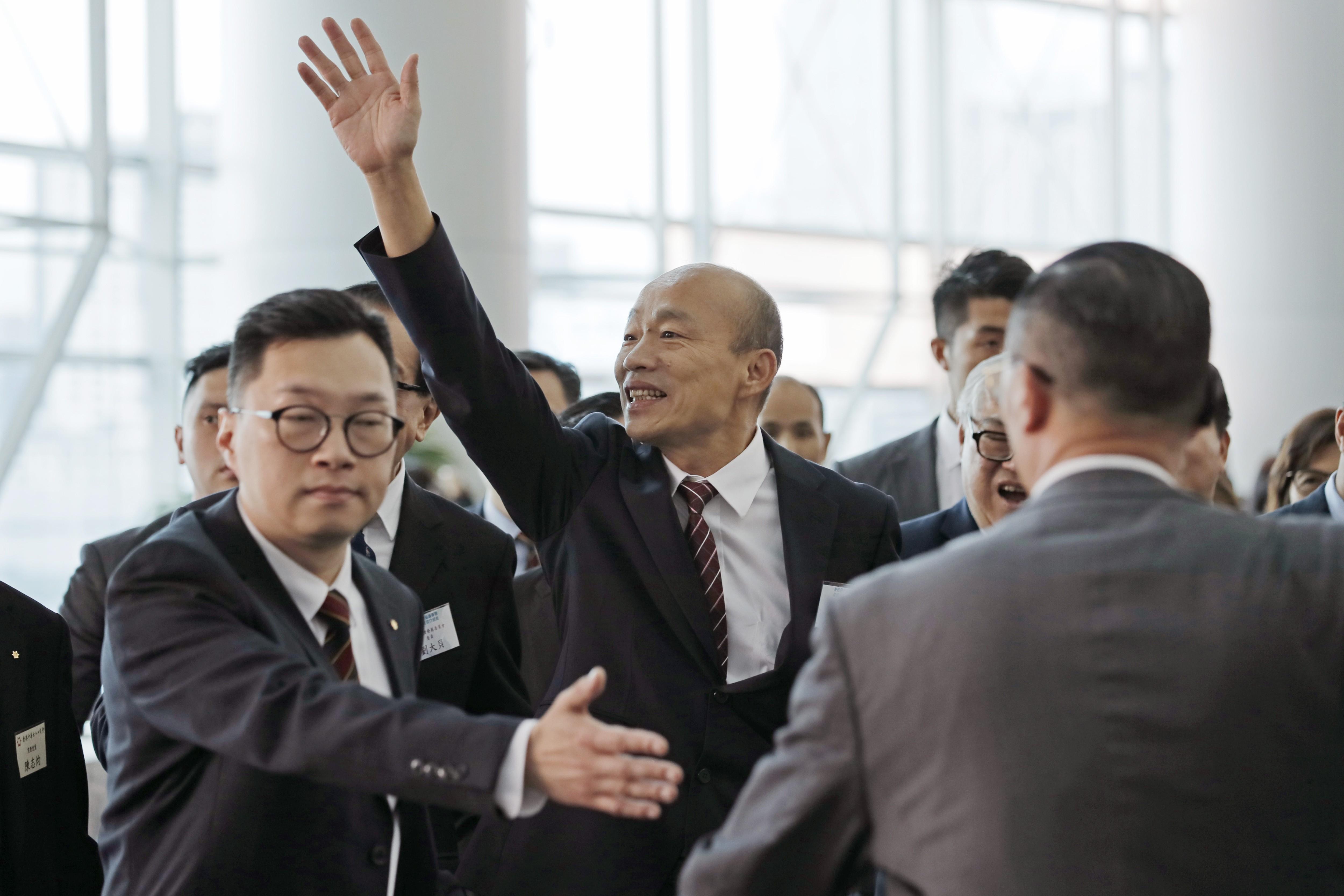 Taiwanese mayor Han Kuo-yu heads to US as he seeks to boost profile