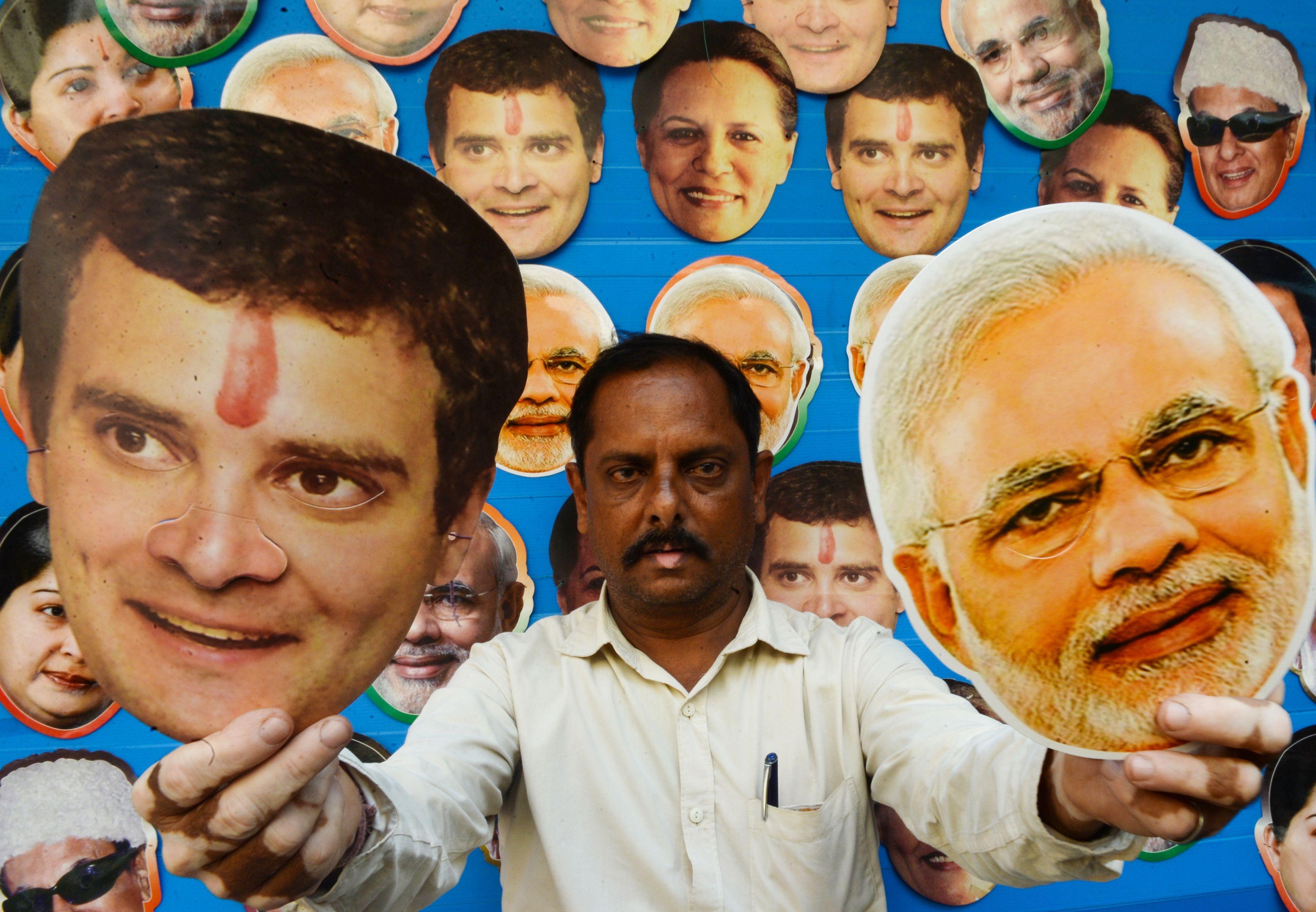 Gandhi to cow vigilantes fake news and watchman modi indias election explained
