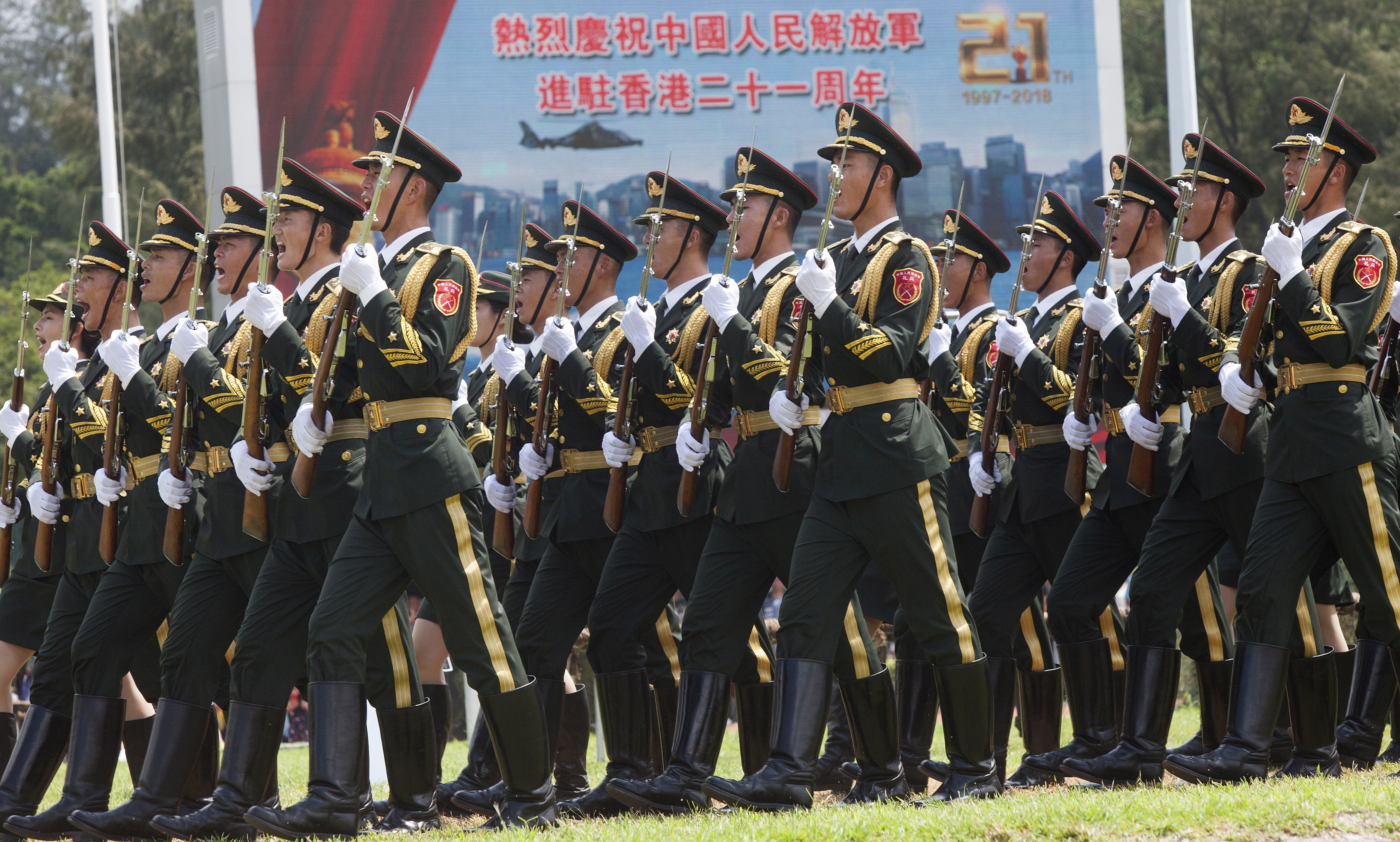 b05c0d04d5c Chinese People s Liberation Army garrison in Hong Kong has new chief ...