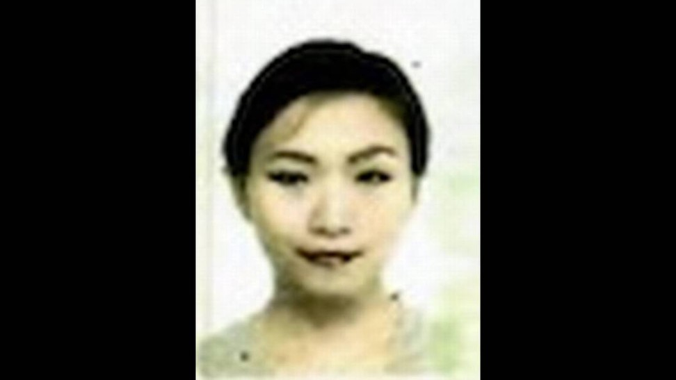 A passport photo of Zhang Yujing, who remains in custody in Florida. Photo: Handout