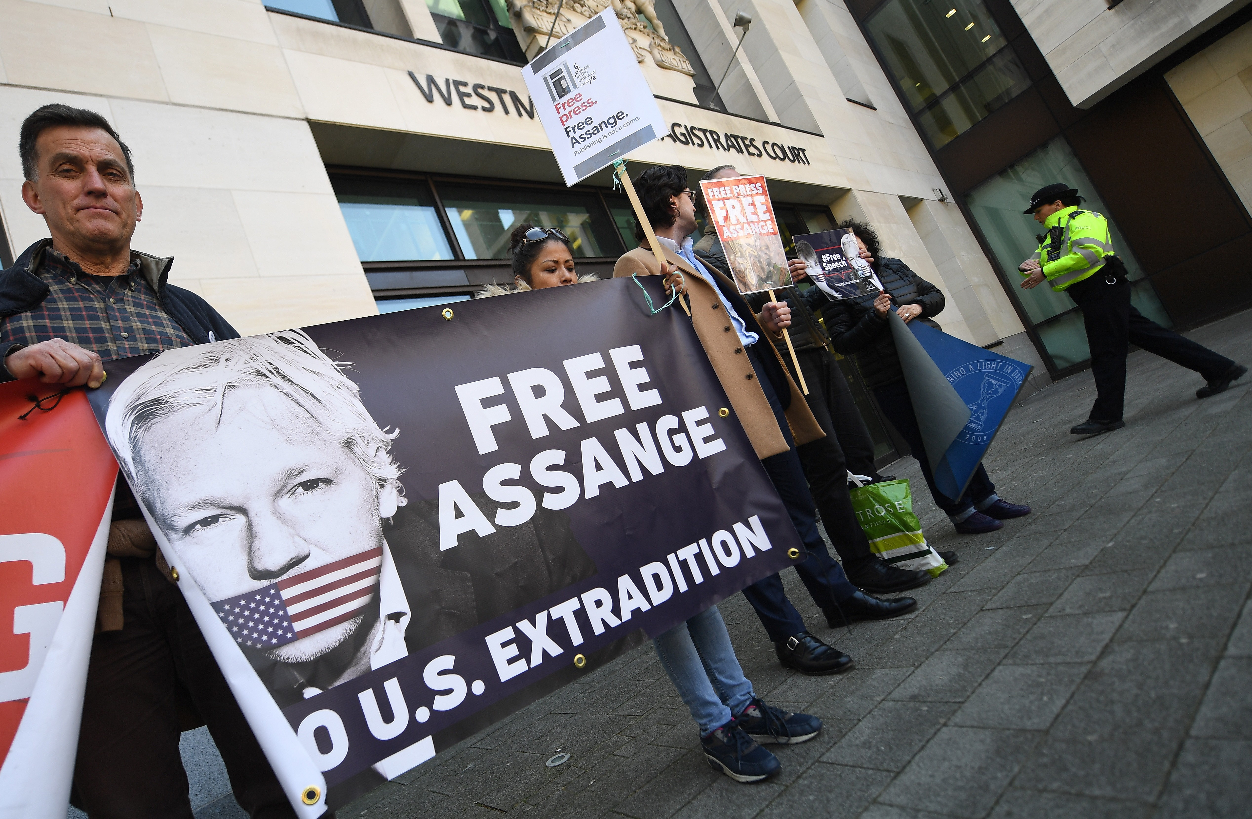bd6624cba36 Is arrested WikiLeaks founder Julian Assange a transparency icon or an  enemy of the state