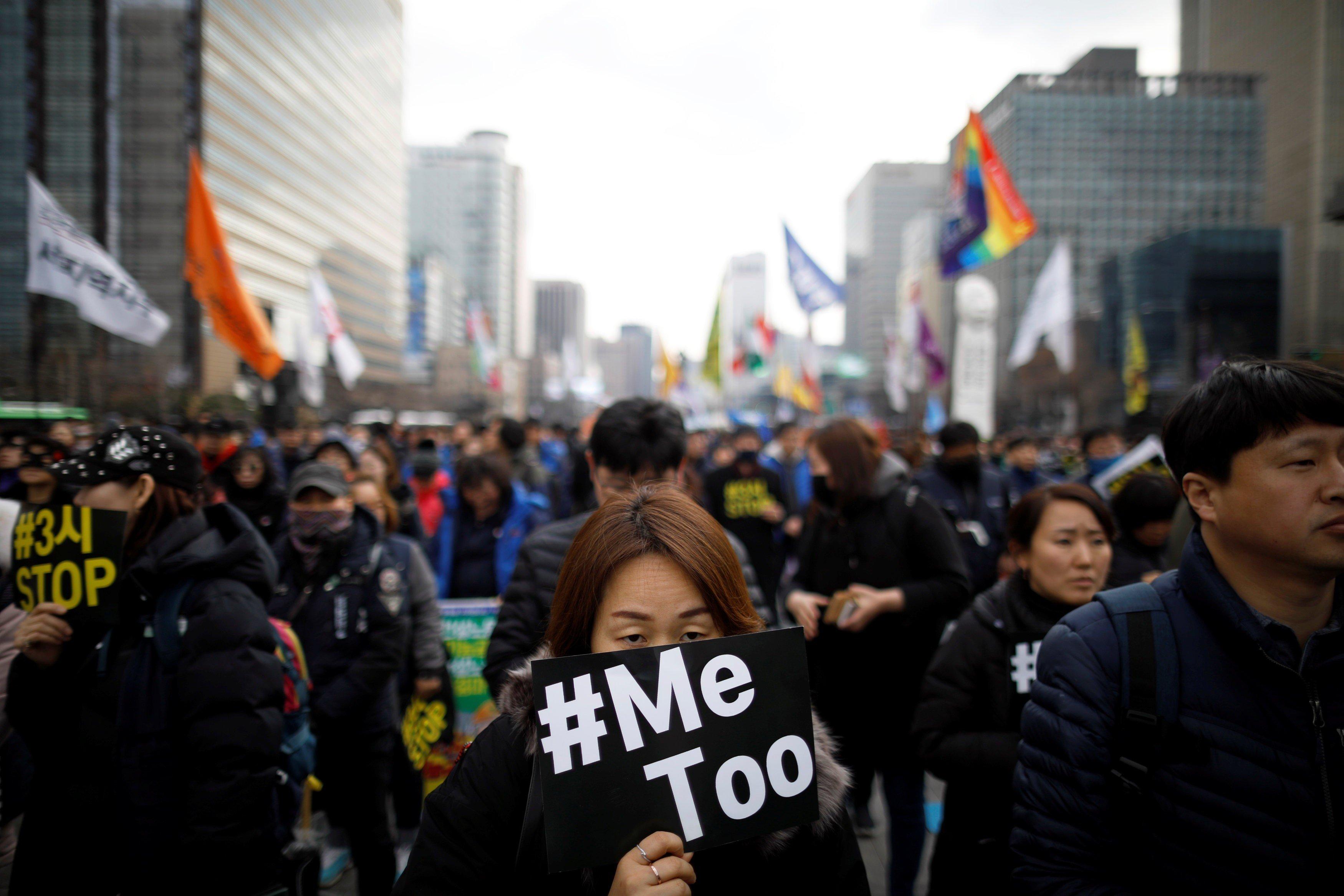 How symbol of South Korea's Me Too era gave voice to women