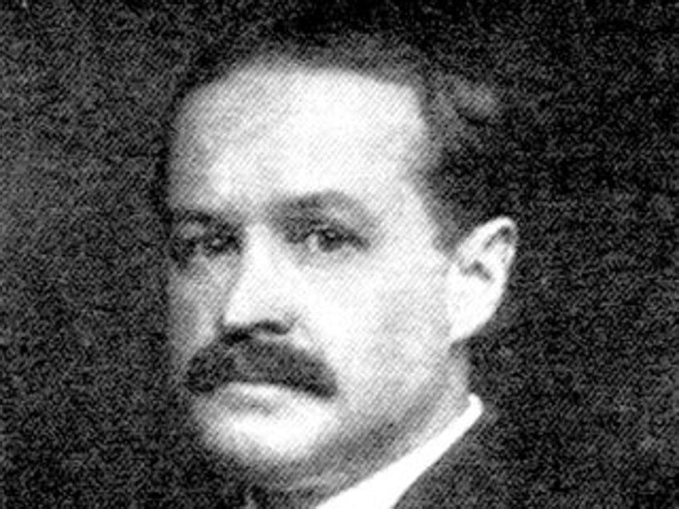 Cricketer and railroad company executive John Thayer. Photo: Wikimedia Commons