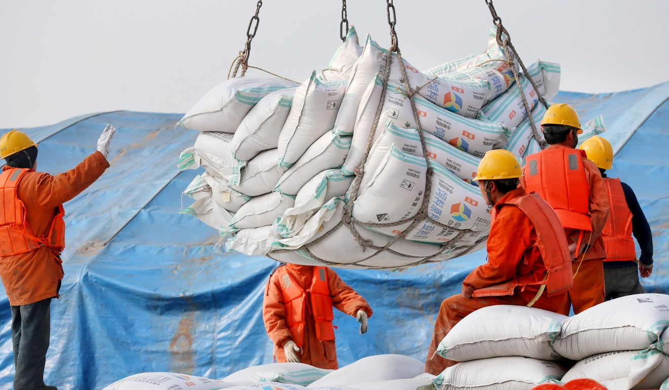 Soybean imports by China are forecast to decline for the first time in 15 years to 88 million tonnes this season. Photo: Reuters