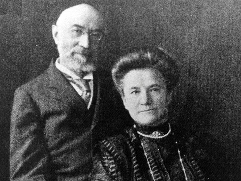 Isidore and Ida Straus went down with the ship together. Photo: Wikimedia Commons