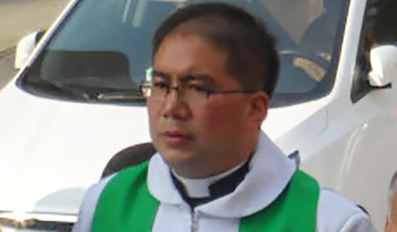 Father Stephen Xu Hongwei of Hanzhong diocese in Shaanxi was elected as a coadjutor bishop. Photo: Handout