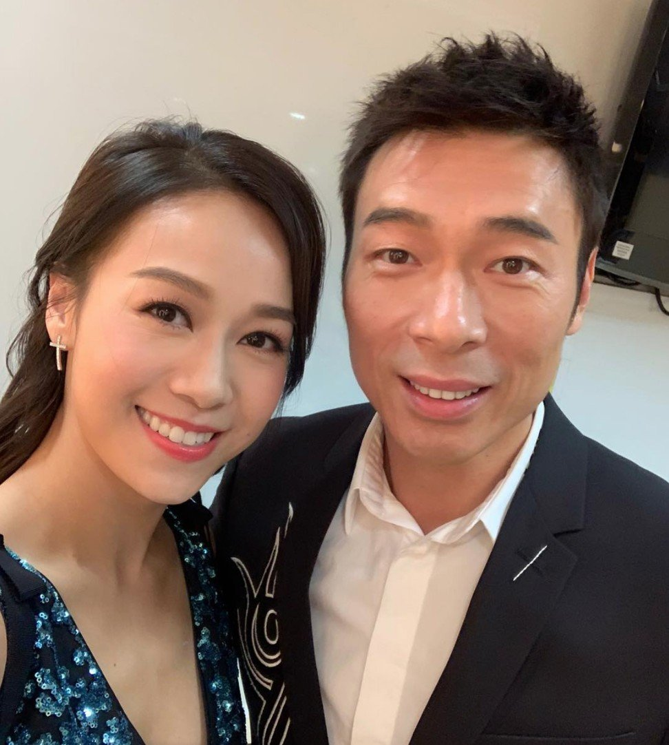 Jacqueline Wong and Andy Hui pictured together before the release of the video on Tuesday. Photo: Instagram