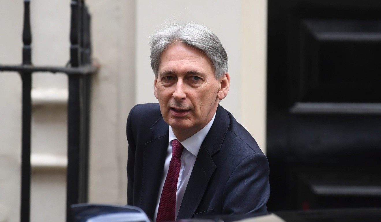 Britain's Chancellor of the Exchequer Phillip Hammond. Photo: EPA-EFE