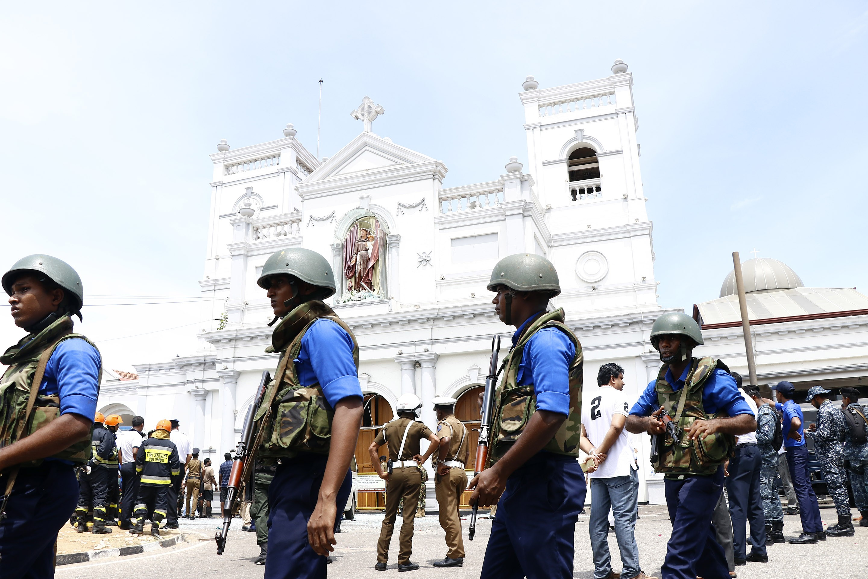 Sri Lanka bombings: eight arrests after eight explosions kill 207, injure hundreds in bloody Easter Sunday attacks