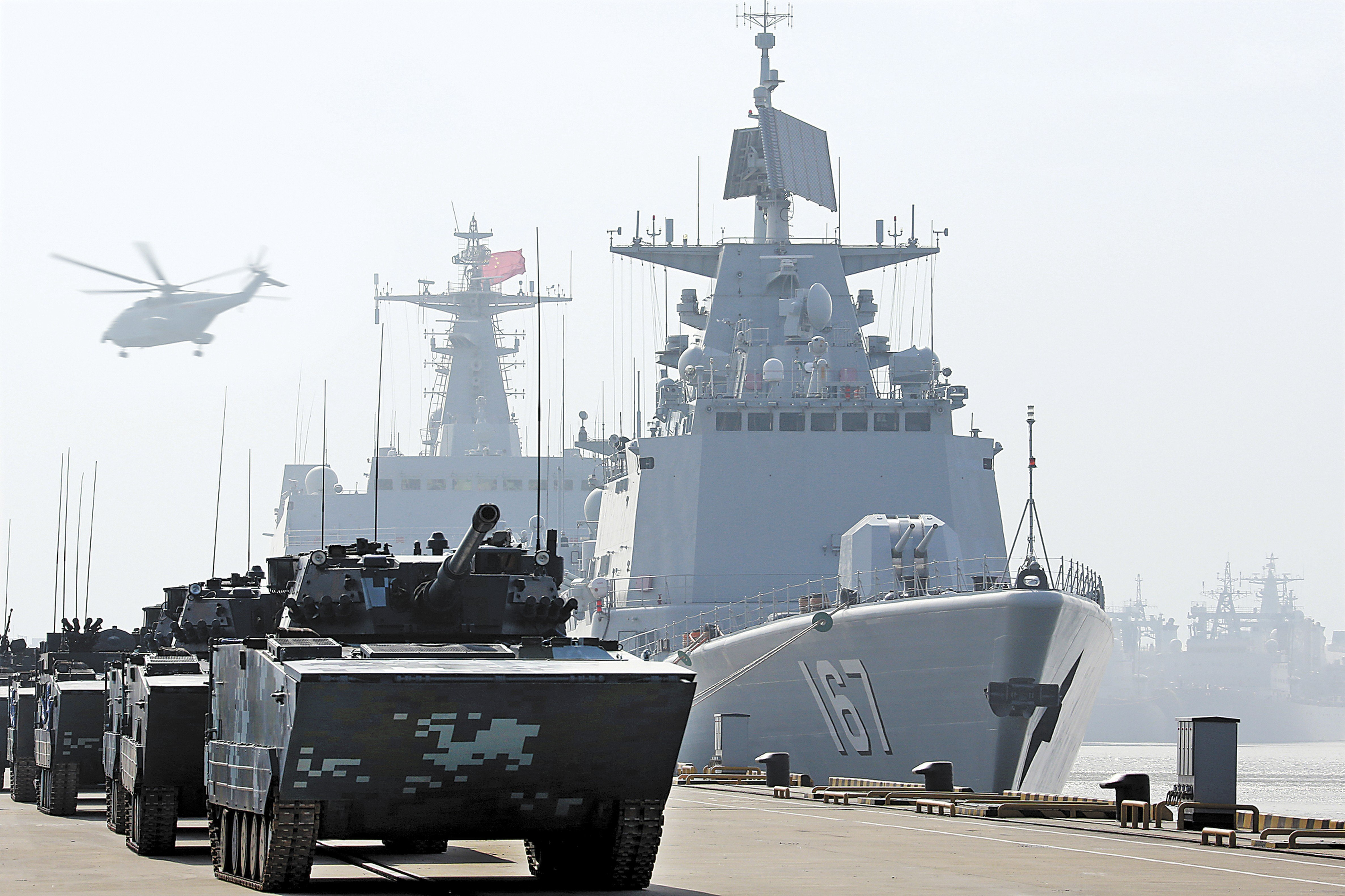 China puts a damper on navy's 70th anniversary celebrations
