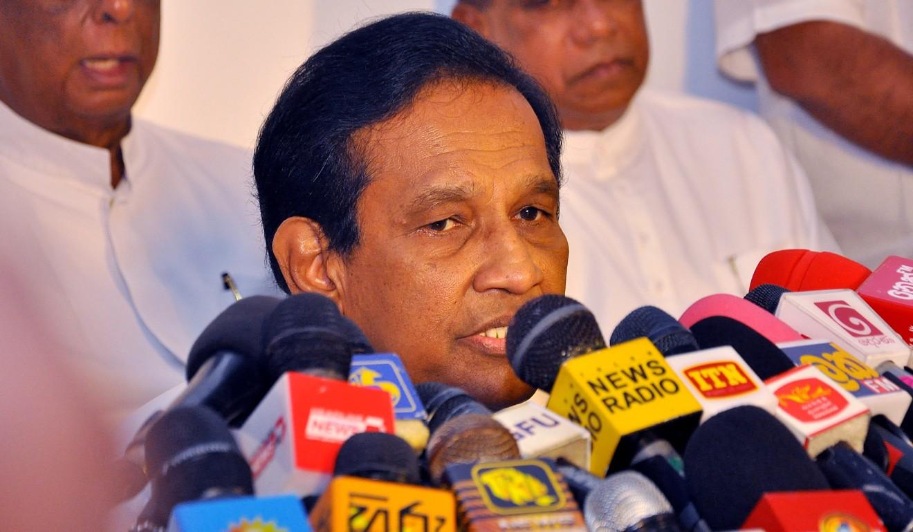 Sri Lankan Cabinet Minister of Health Ragitha Senarathne.Photo: EPA-EFE