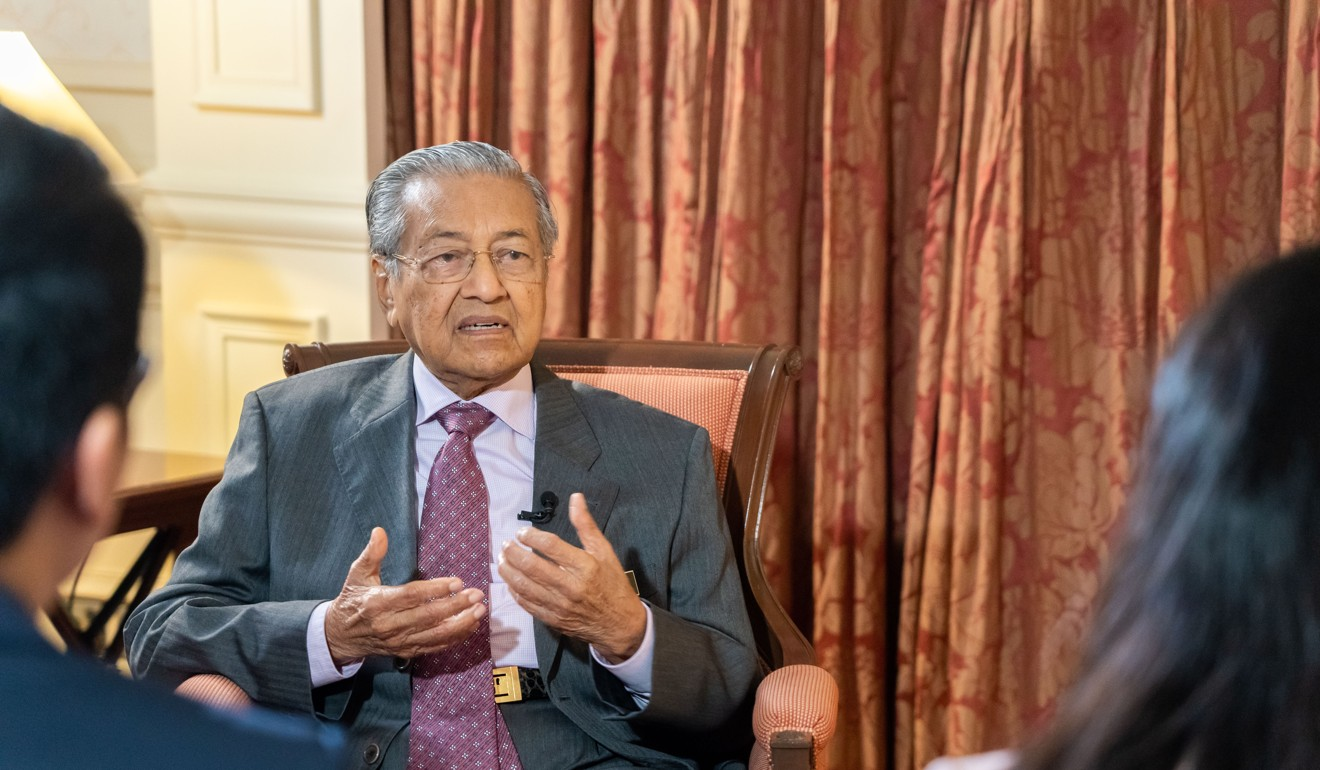 Malaysian Prime Minister Mahathir Mohamad renegotiated the terms of the country's involvement in the initiative. Photo: Xinhua