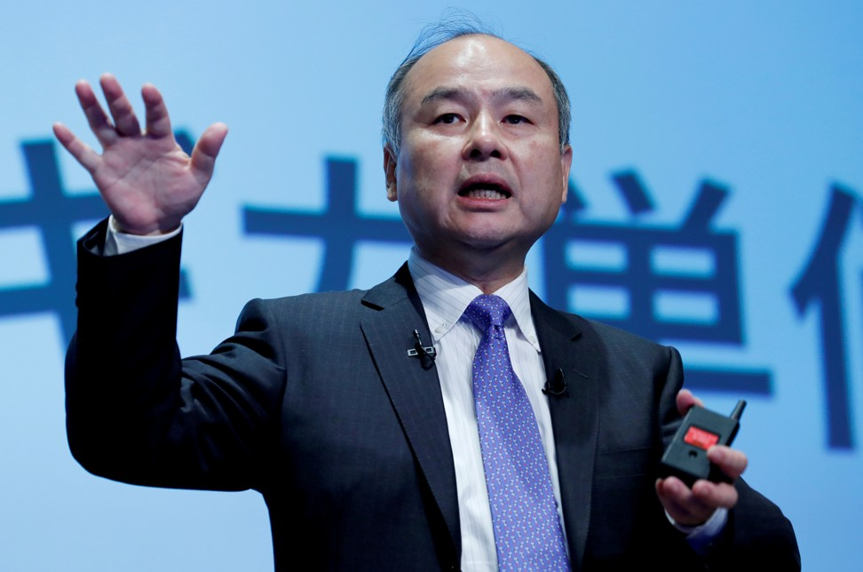 Masayoshi Son, the founder and chief executive of Japanese conglomerate SoftBank Group Corp, is betting on Loon, a subsidiary of Google parent Alphabet, to help advance the company's new business in high-altitude telecommunications systems. Photo: Reuters