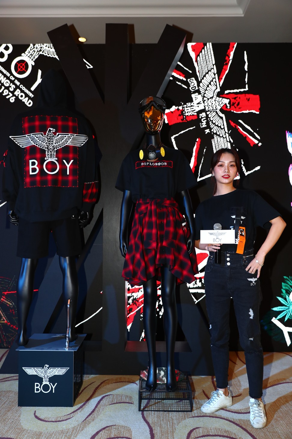 f35f48cd9fcf How UK streetwear brand Boy London beat China's copycats and is finally  booming in the country | South China Morning Post