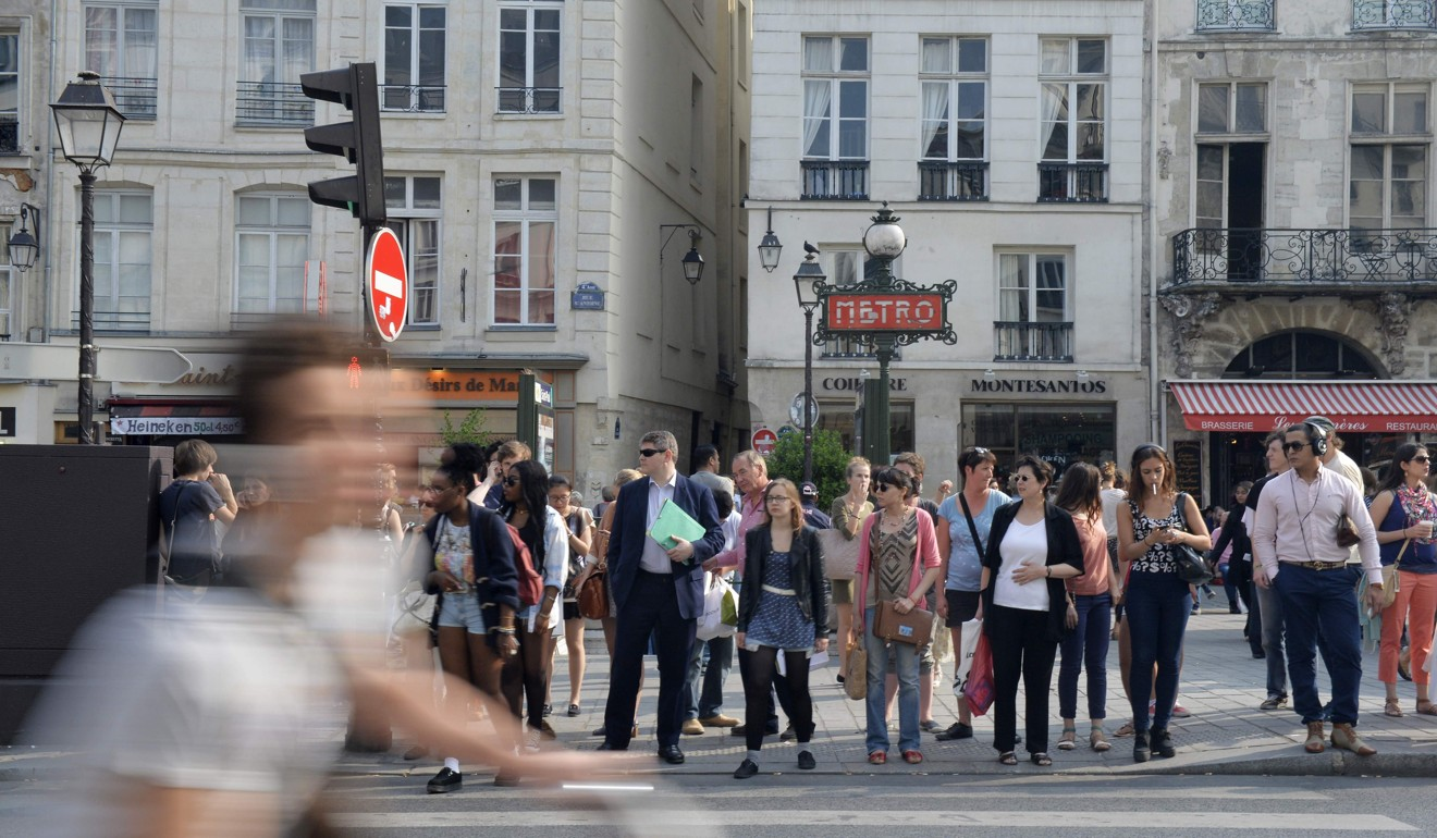 Pickpockets and sneak thieves are a threat to all visitors to France, but the Chinese are often regarded as prime targets, the embassy said. Photo: AFP