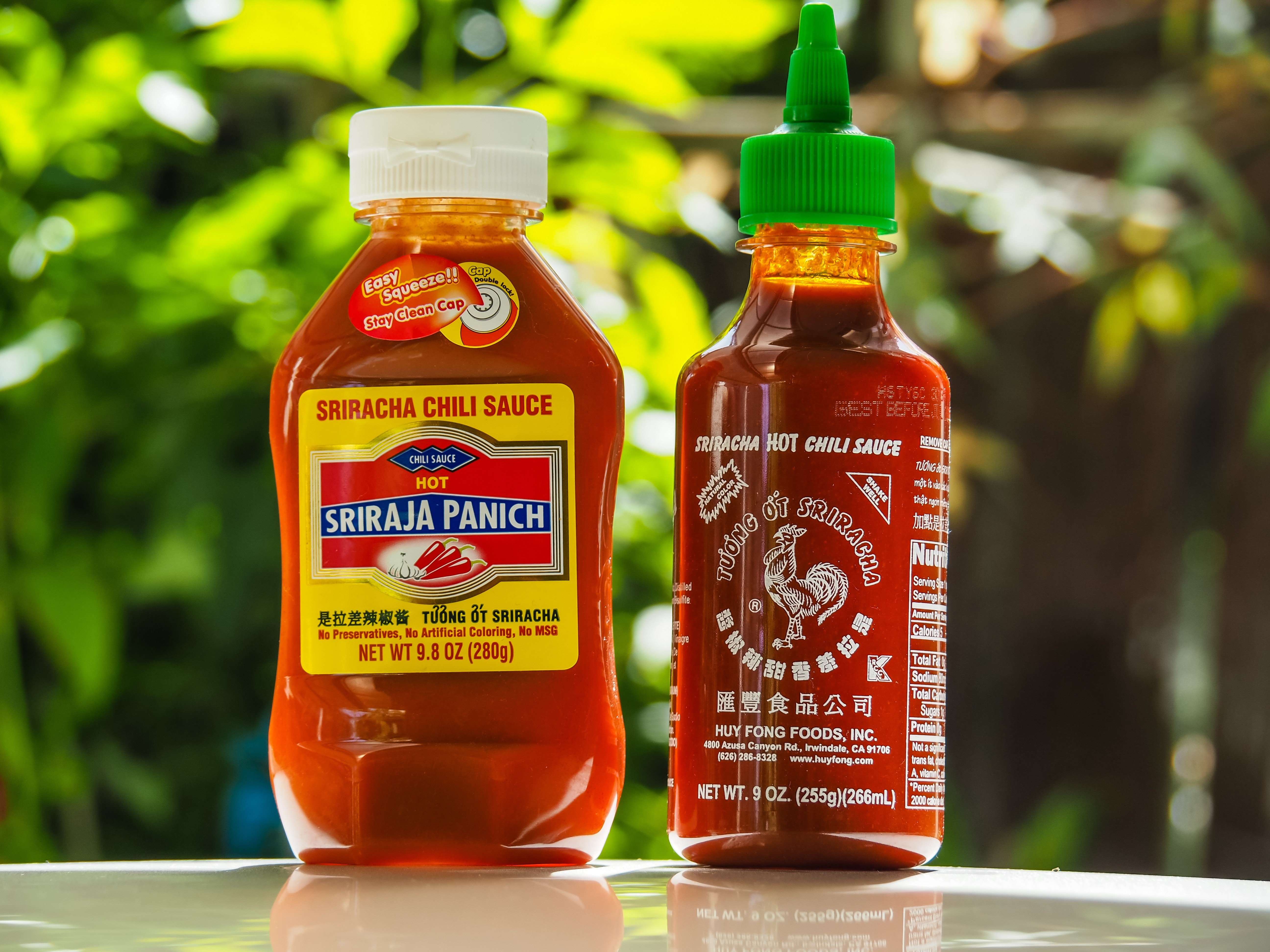 Thai Sriracha plays it cool in the US and spices it up in China