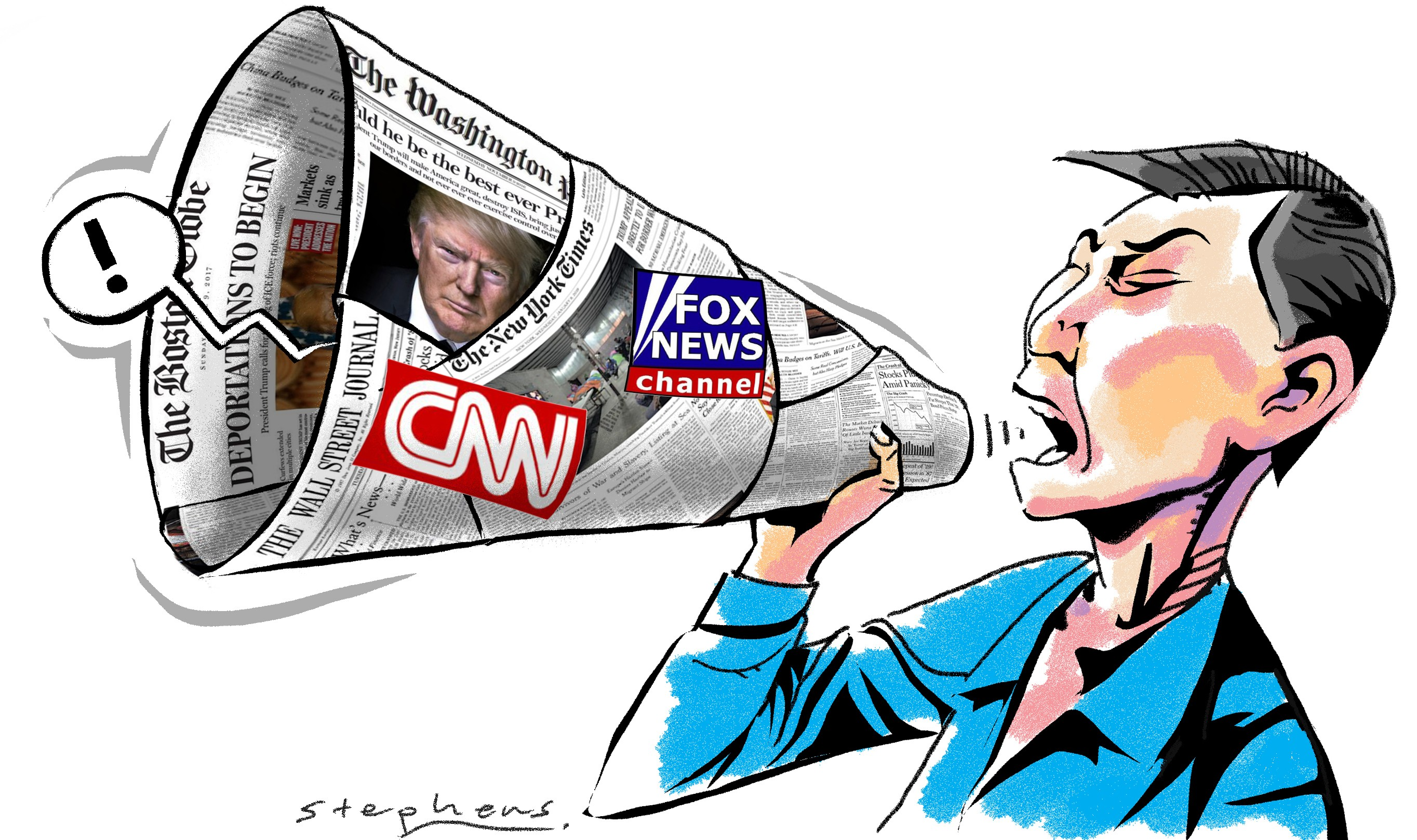 Besides fake news, bias and fewer readers, the US media has ...