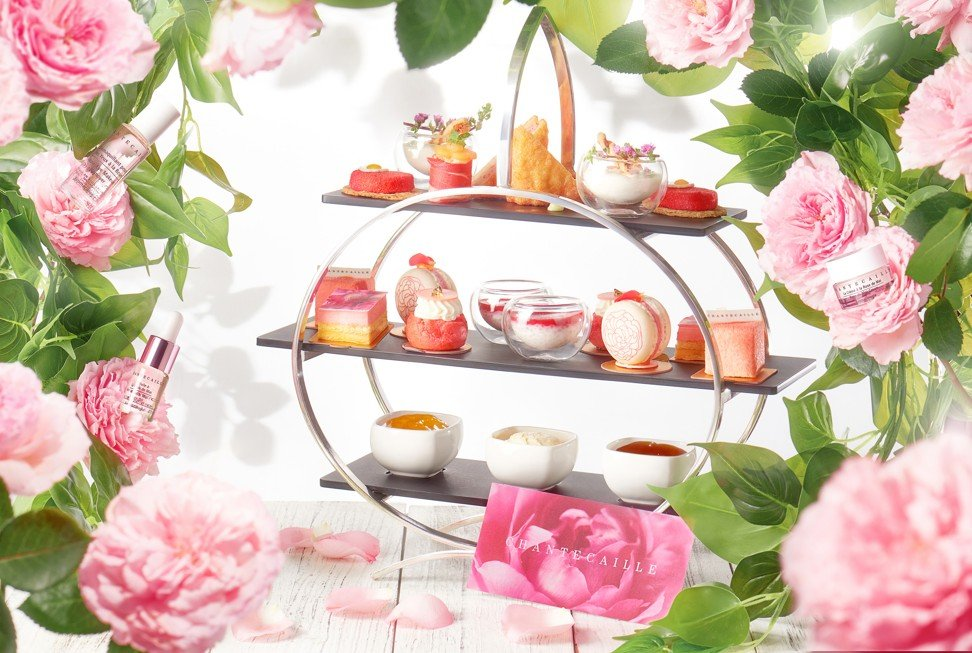 The rare rose, Rose de Mai, is being celebrated with the InterContinental x Chantecaille Rose de Mai afternoon tea collaboration.