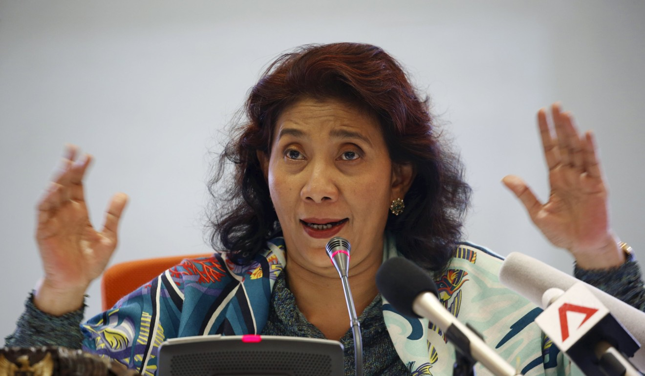 Indonesia's Fisheries Minister Susi Pudjiastuti. Photo: Reuters
