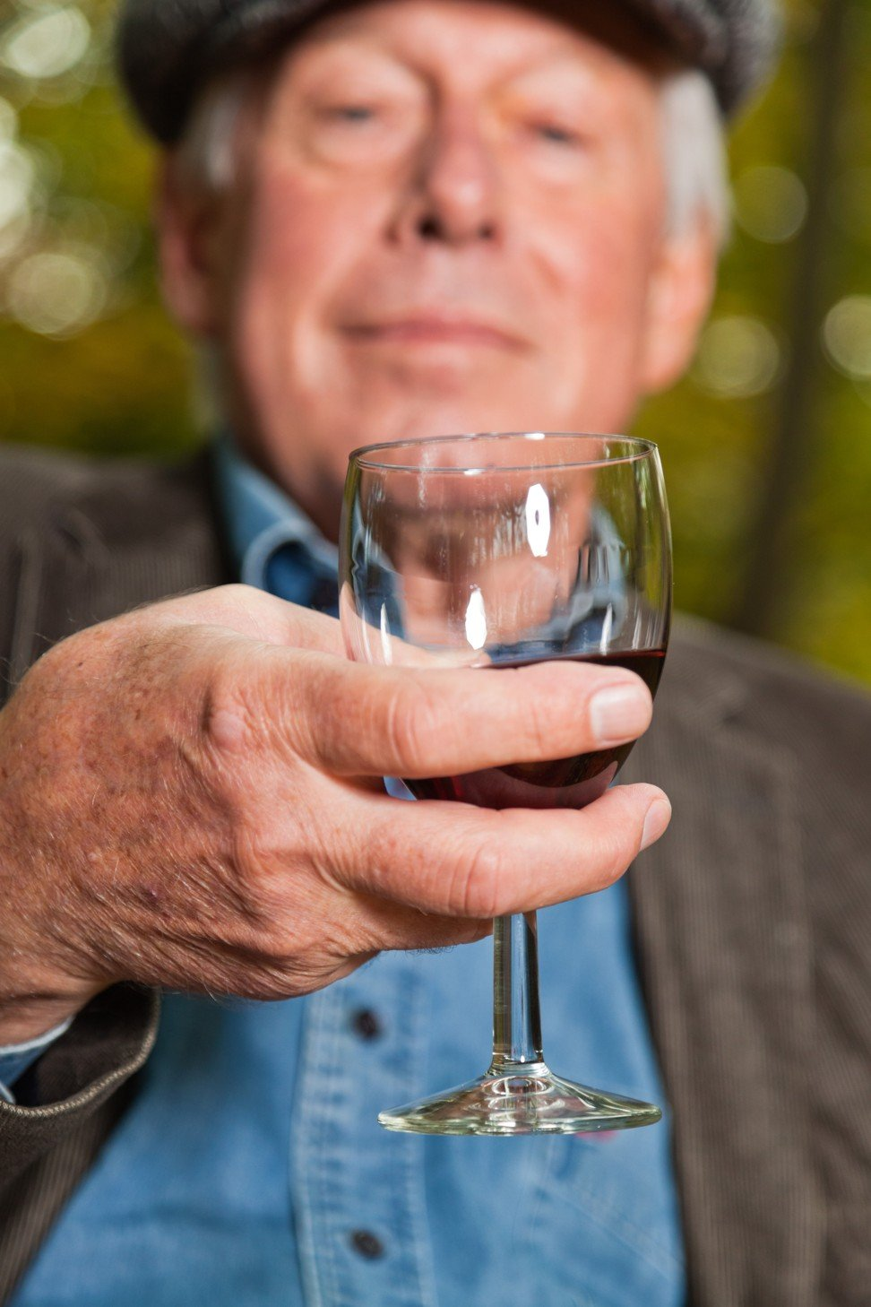 Red wine is also beneficial for mental health as we age. Photo: Alamy