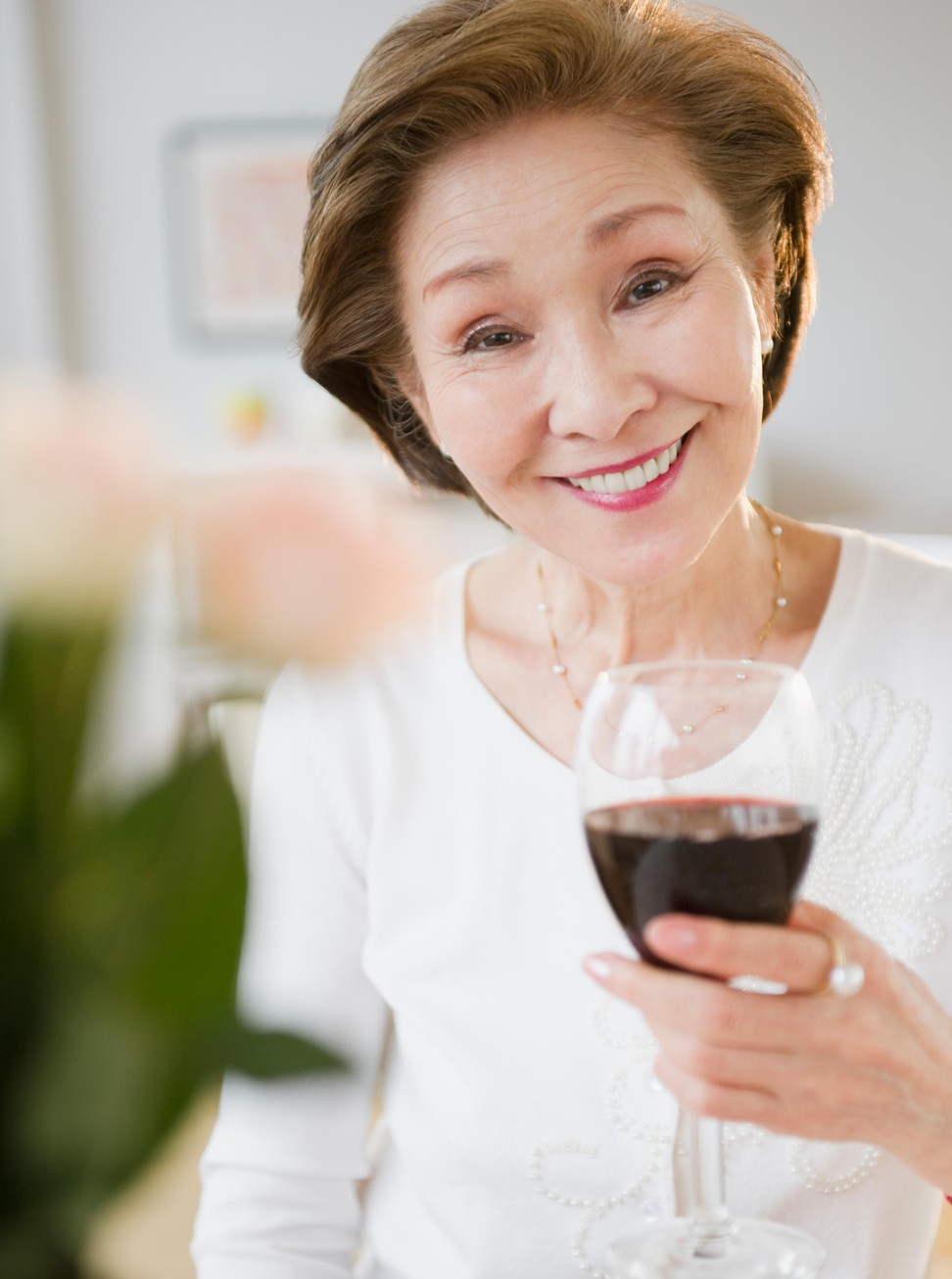 Try to include heart healthy food as well as wine in your diet. Photo: Alamy
