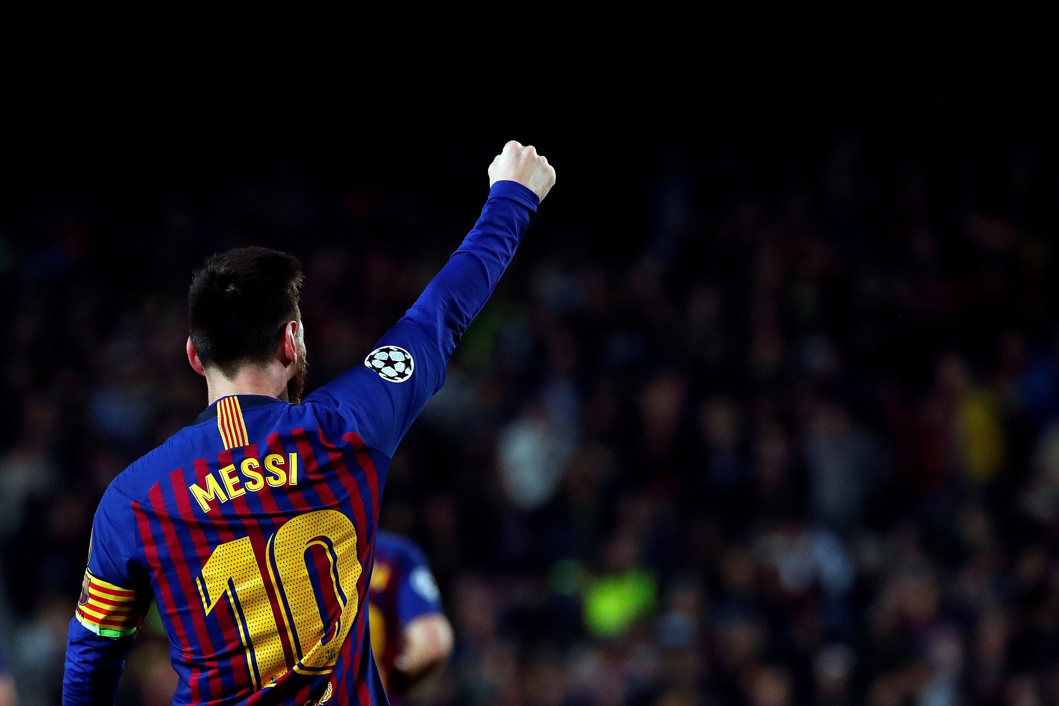 afc2085b22a Twitter reacts to Messi s Champions League masterclass and 600th goal  against Liverpool