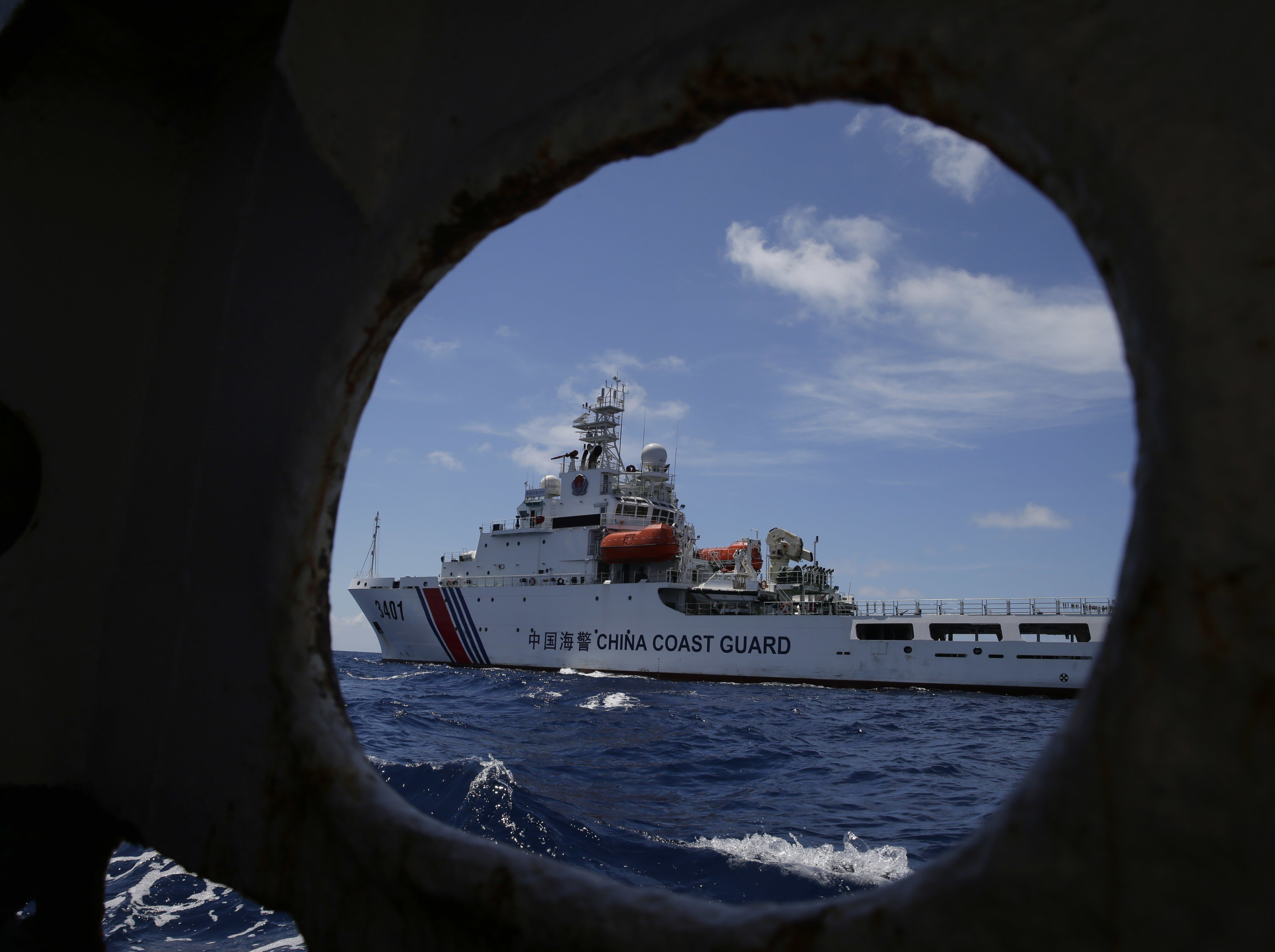 Beijing's blurred lines between military and non-military