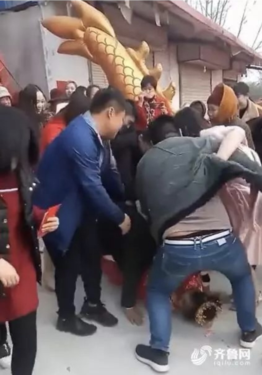 Chinese county vows to put an end to violent and vulgar ritual of