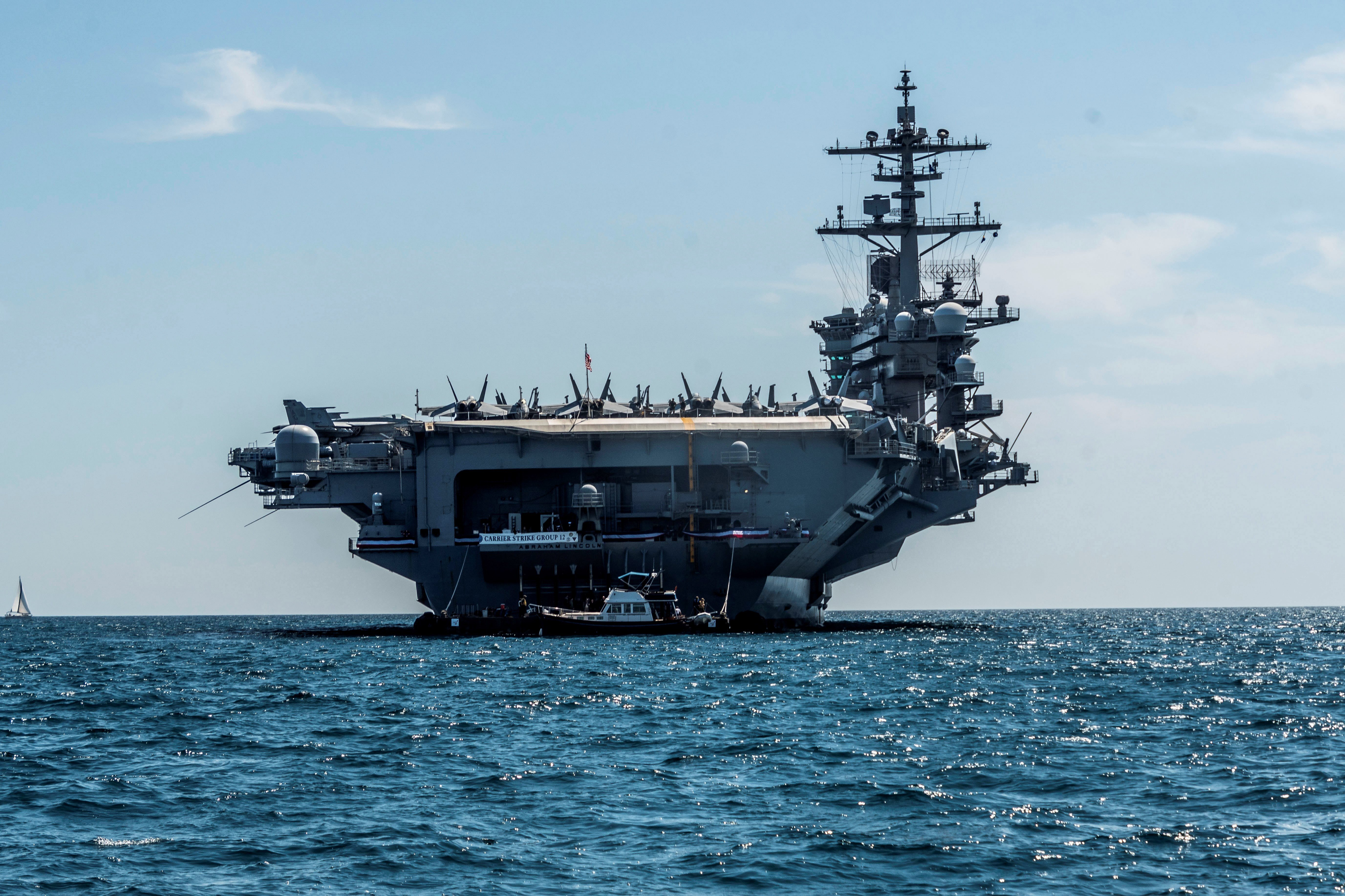 US dispatches aircraft carrier to Middle East over ...