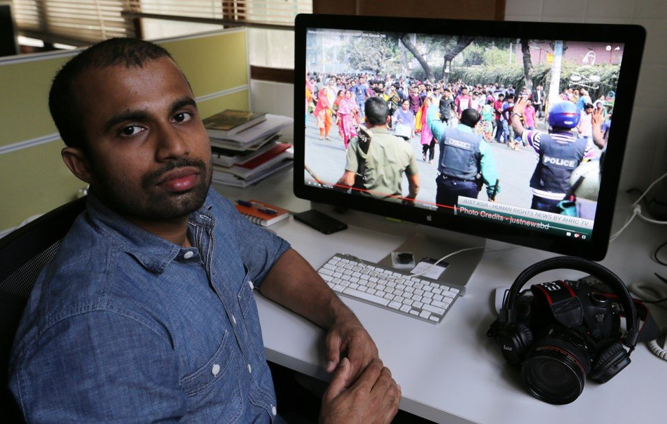 Sampath's aim is to broadcast regional human rights abuses to a global audience. Photo: Dickson Lee