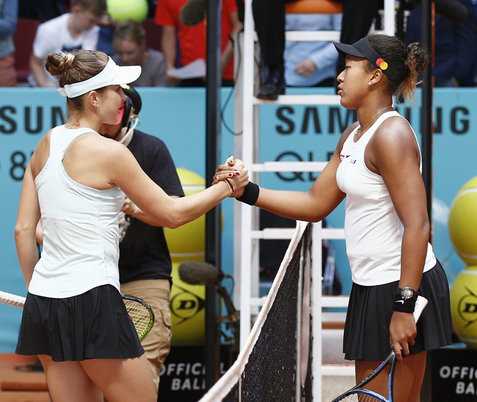 Naomi Osaka struggling to quell the 'drama' in her head with world No 1 spot slipping away