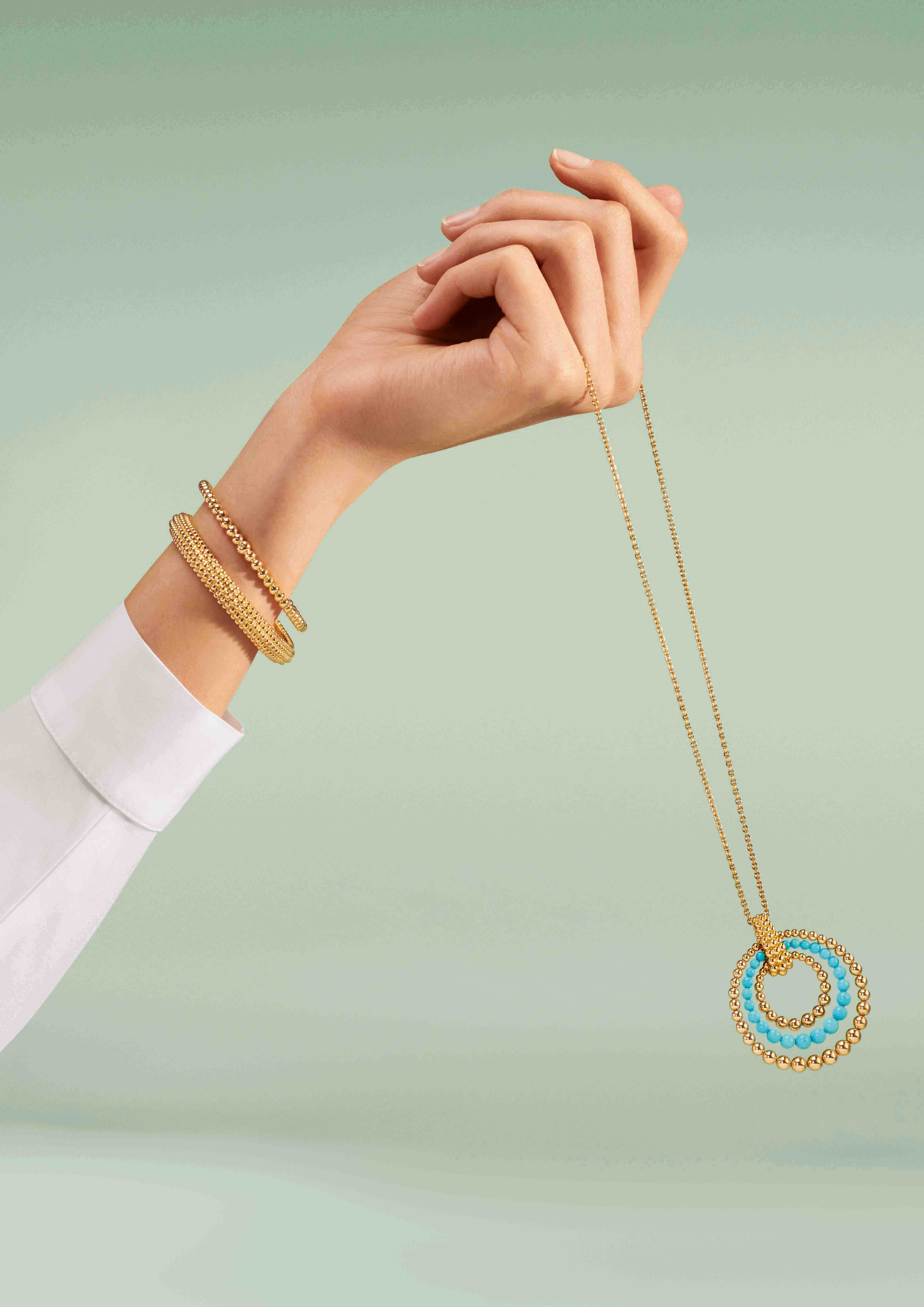 How Van Cleef & Arpels' multi-coloured Perlée collection rings the changes