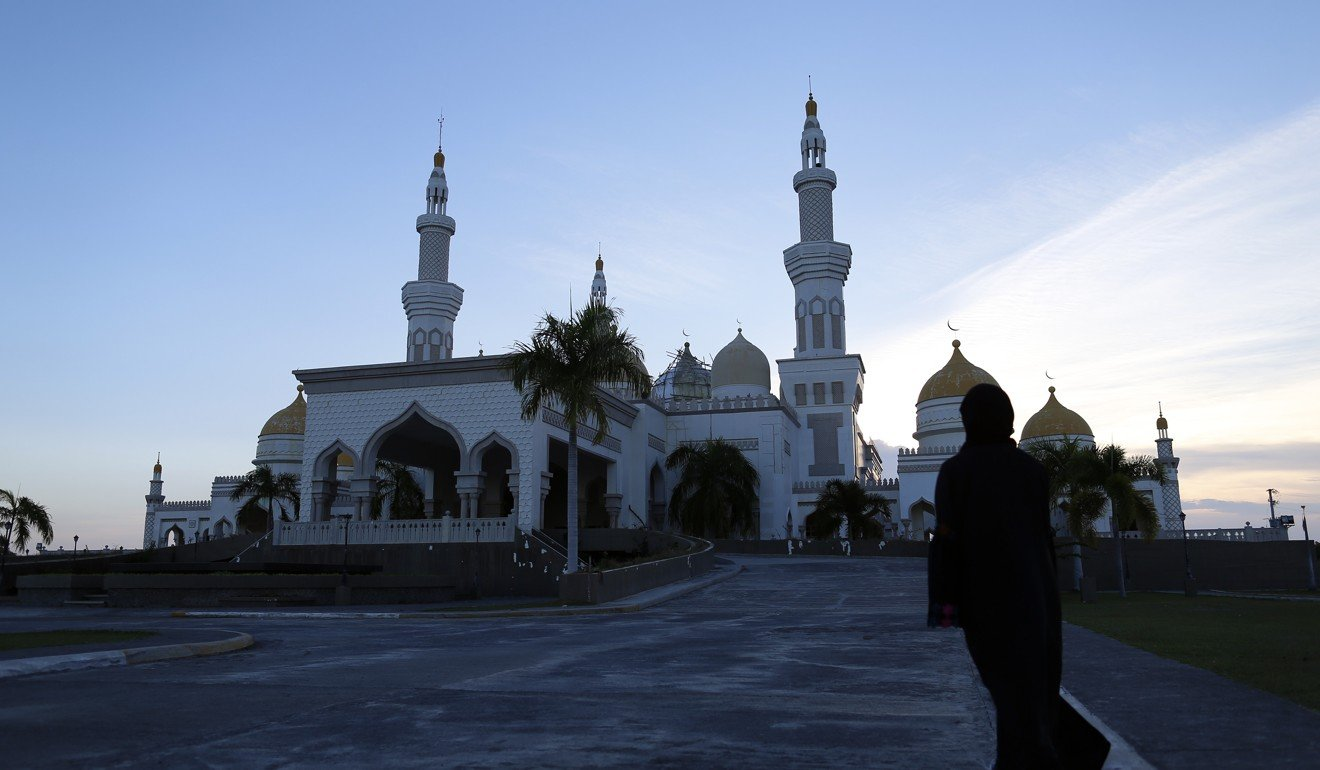 Sultan Haji Hassanal Bolkiah Mosque, a five-hectare complex built in 2008 by the Brunei government in the village of Inawan, just outside Cotabato. Photo: Jeoffrey Maitem