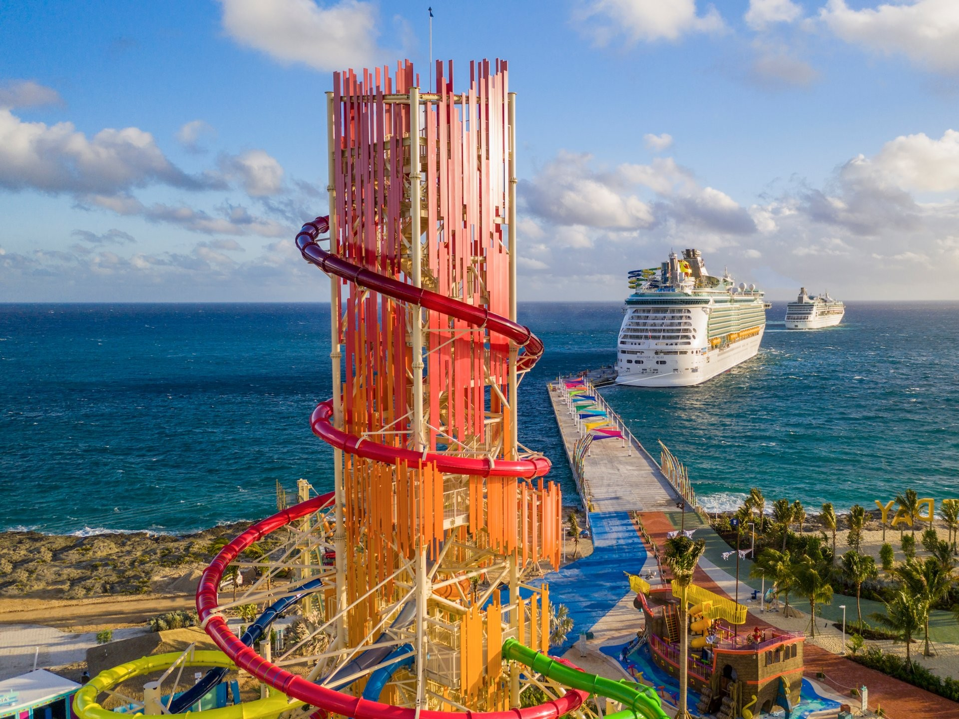 This Royal Caribbean private island cost US$250 million to