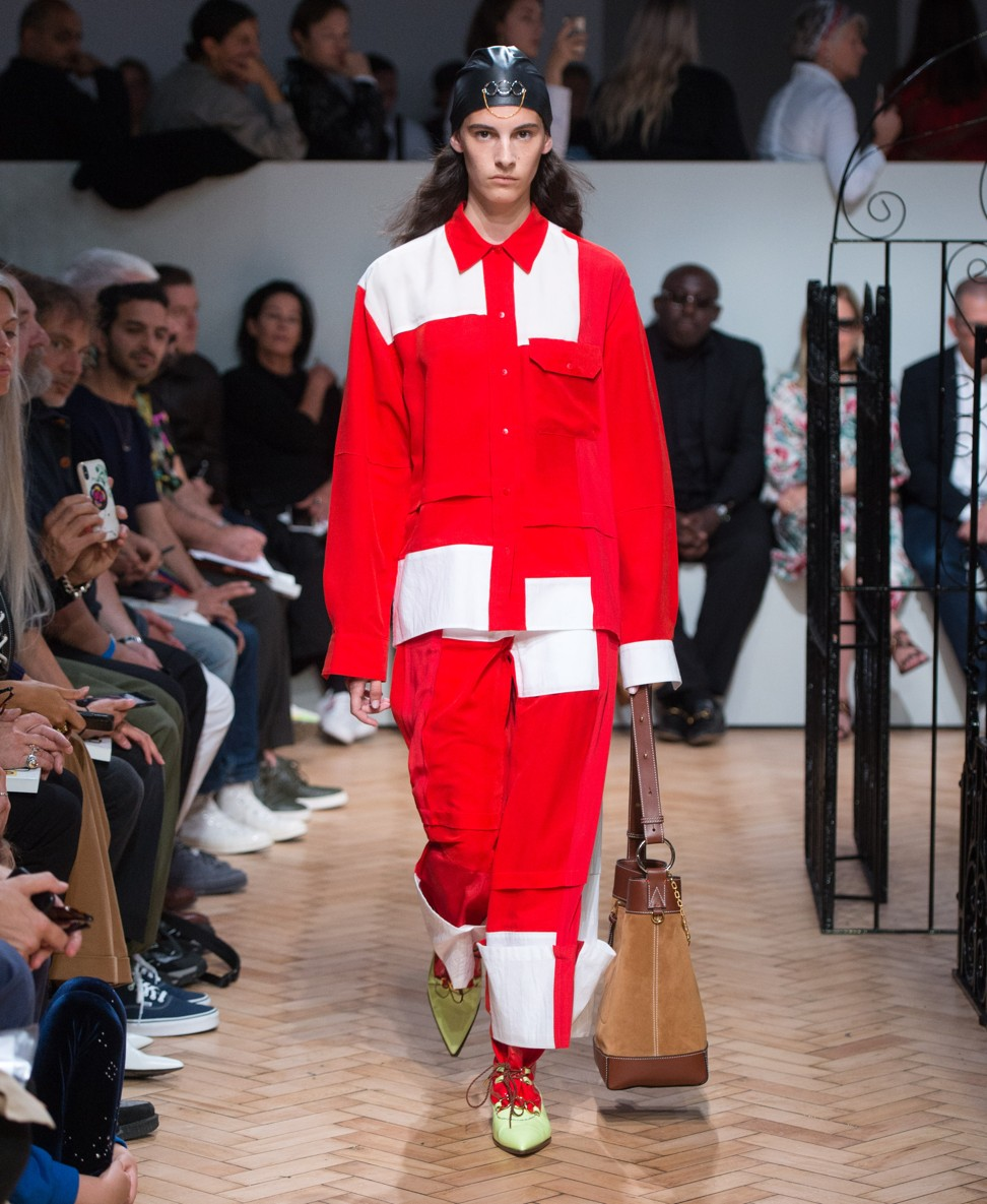 Jonathan Anderson for JW Anderson's spring/summer 2019 collection
